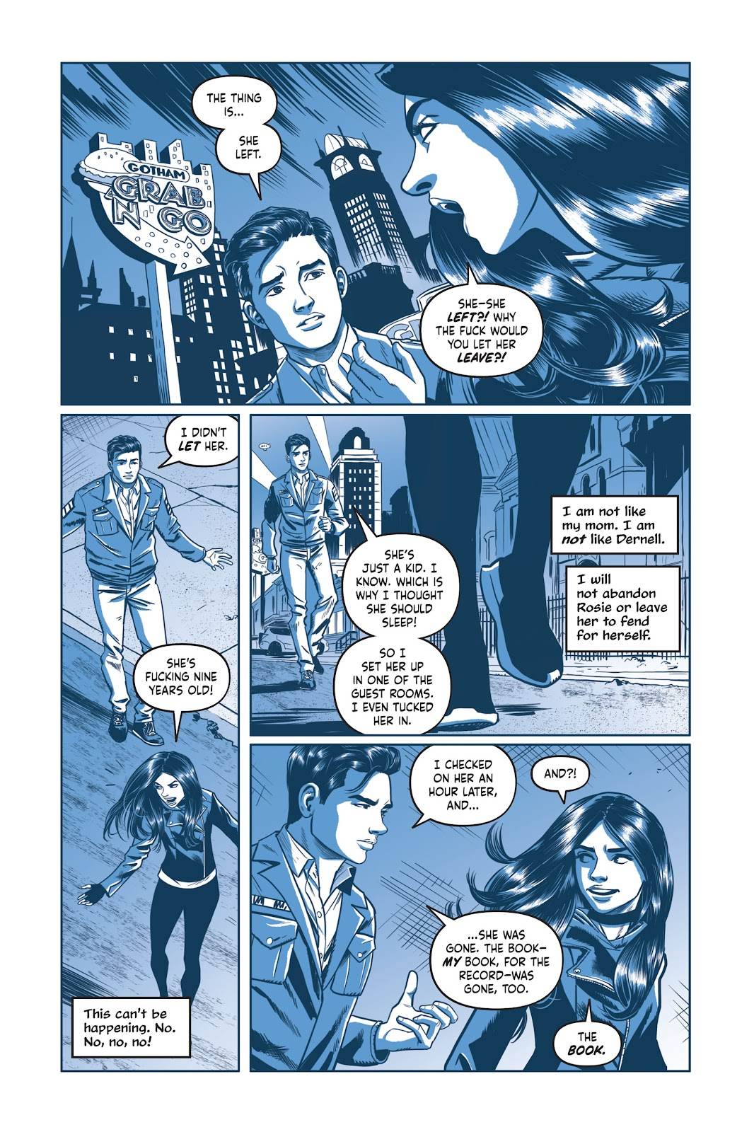 Read online Under the Moon: A Catwoman Tale comic -  Issue # TPB (Part 2) - 65