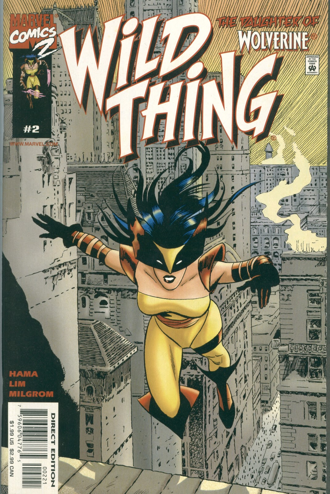 Wild Thing (1999) issue 2 - Page 1