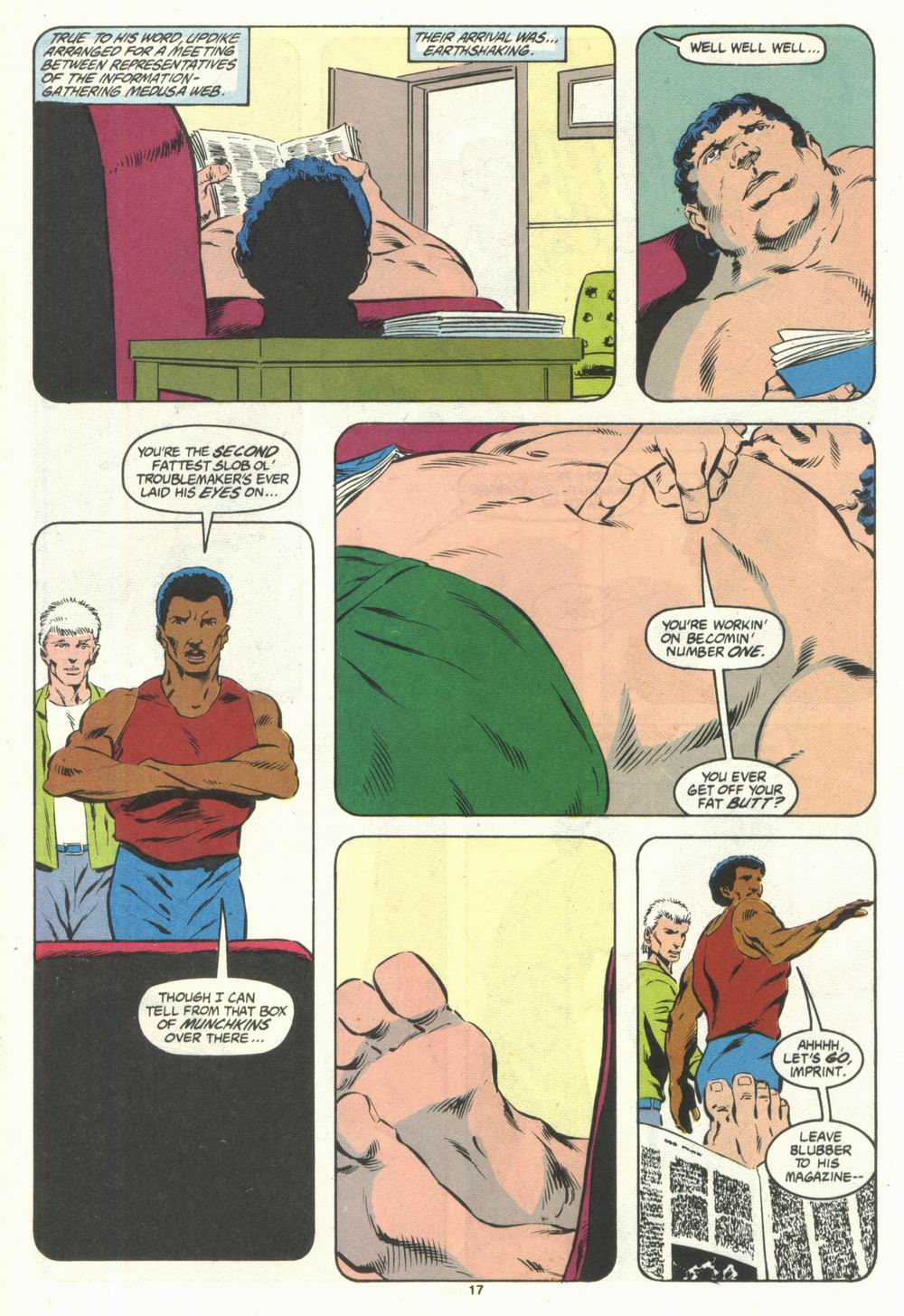 Read online Justice (1986) comic -  Issue #28 - 19