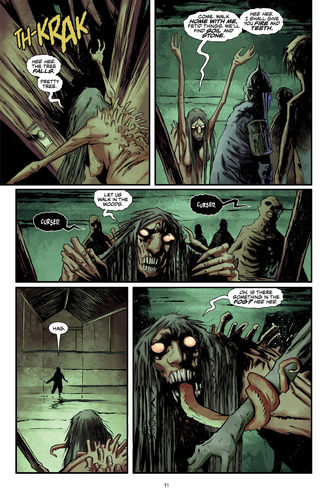 Read online The Witcher Omnibus comic -  Issue # TPB (Part 1) - 89