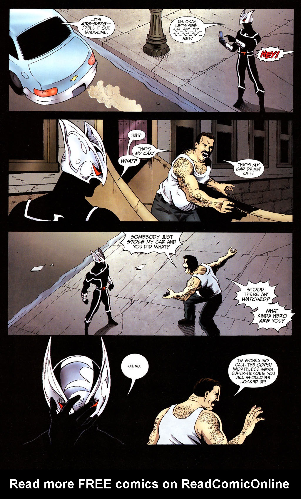 Read online ShadowHawk (2005) comic -  Issue #14 - 8