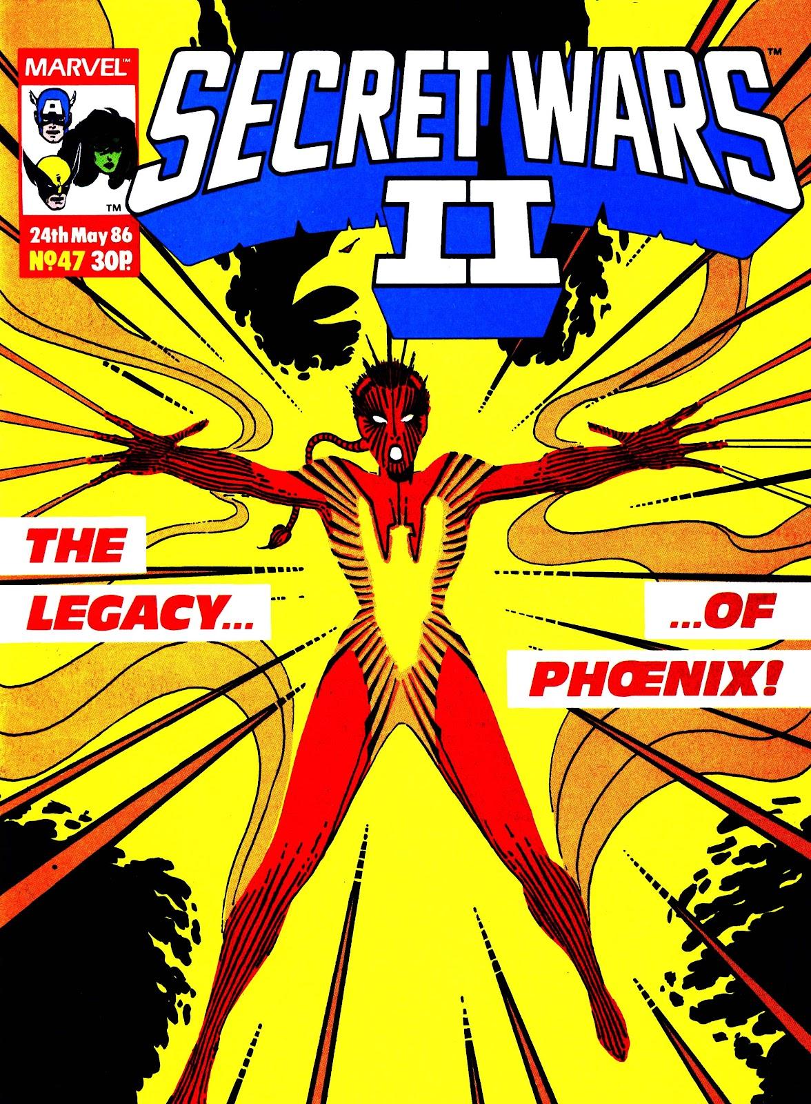 Secret Wars (1985) issue 47 - Page 1