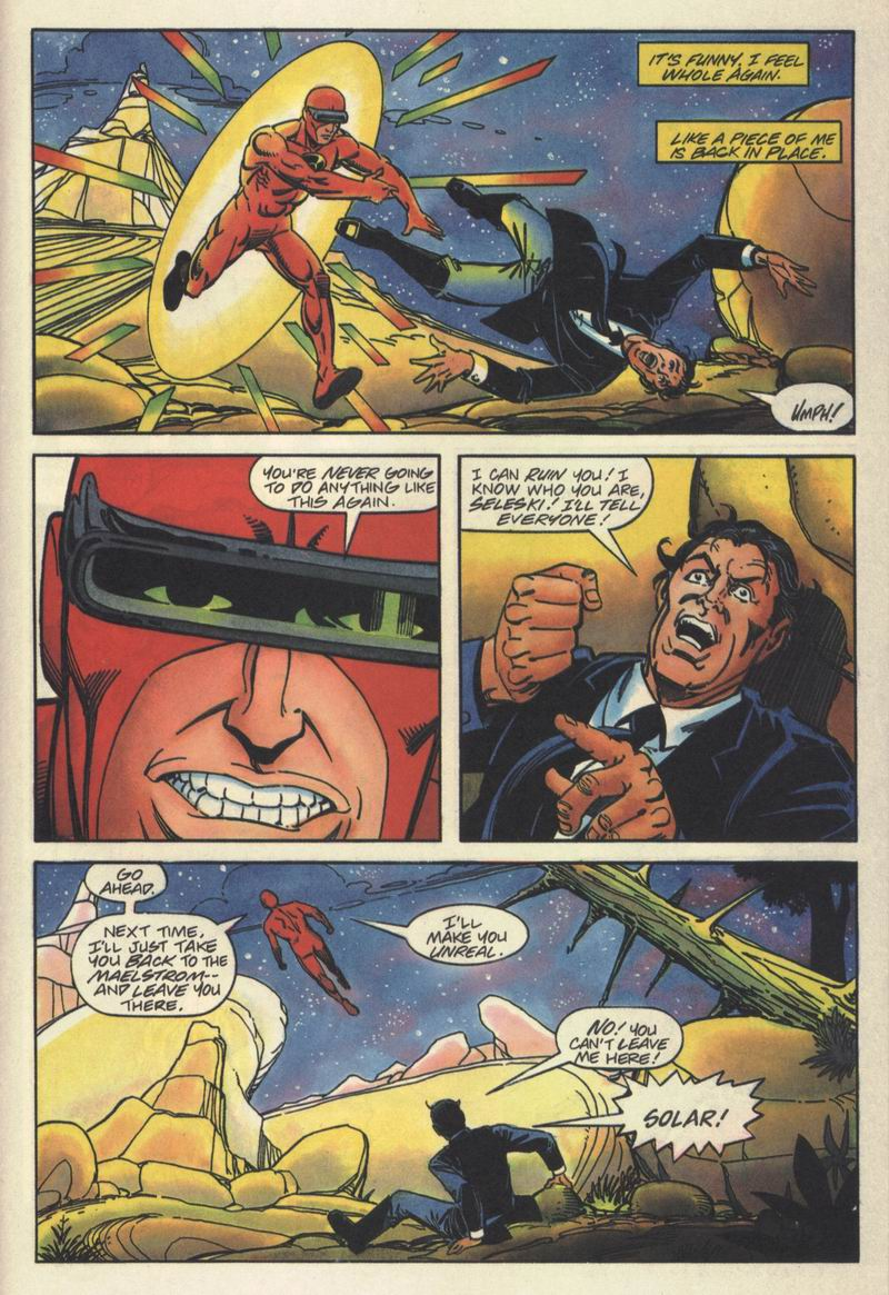 Read online Solar, Man of the Atom comic -  Issue #15 - 21