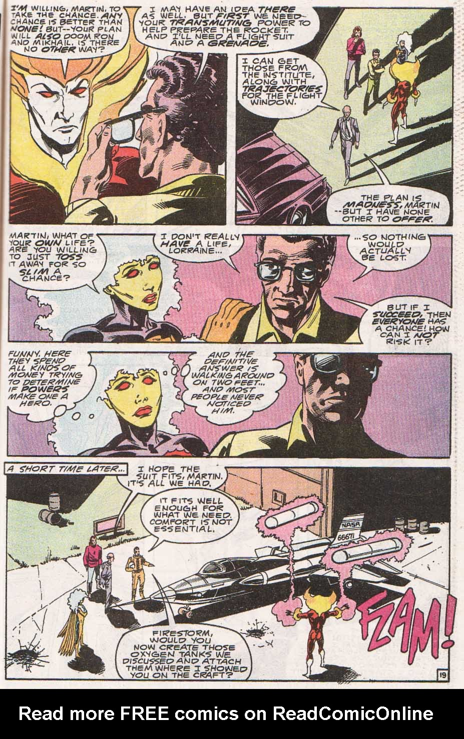 Firestorm, the Nuclear Man Issue #100 #36 - English 20