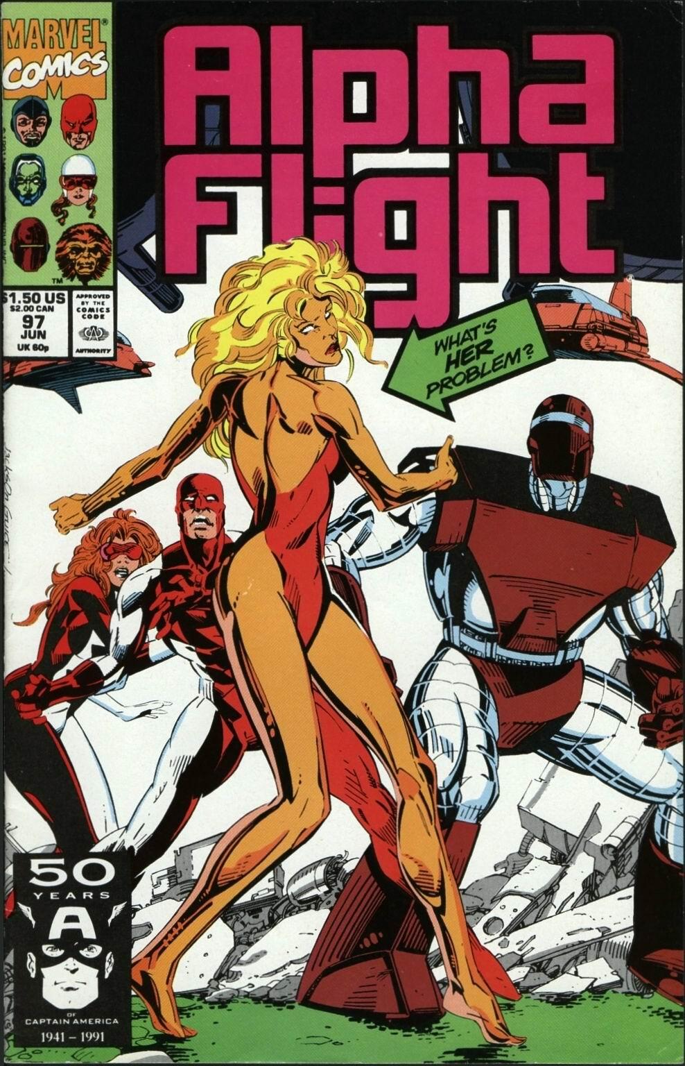 Alpha Flight (1983) 97 Page 1