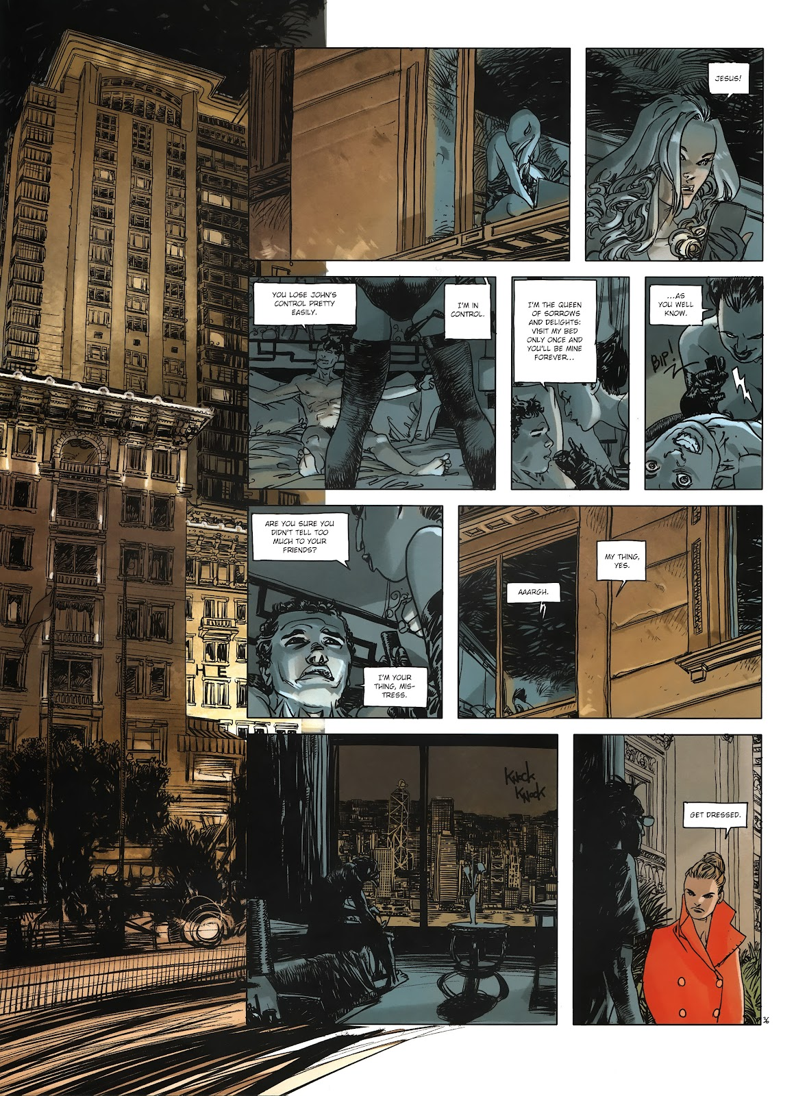 Read online Cutting Edge (2013) comic -  Issue #3 - 35