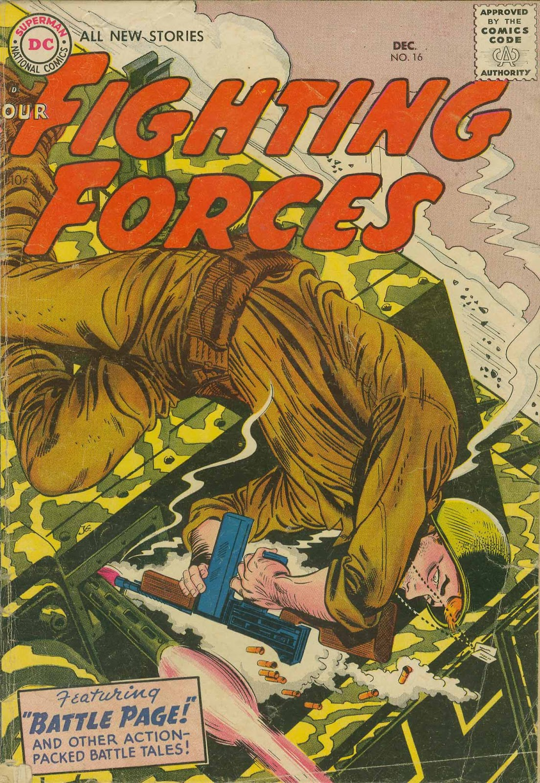 Our Fighting Forces (1954) issue 16 - Page 1