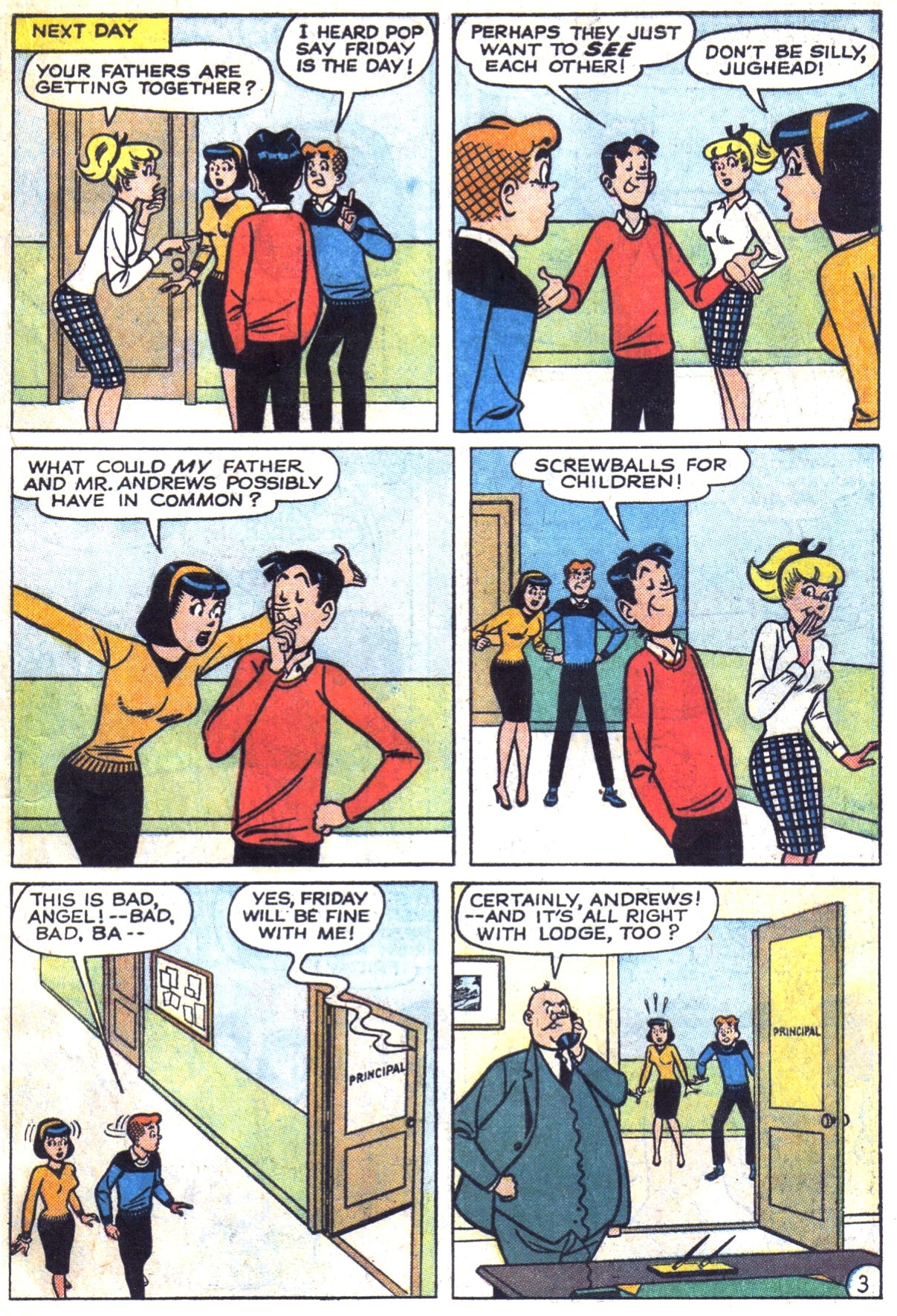 Read online Archie (1960) comic -  Issue #153 - 15