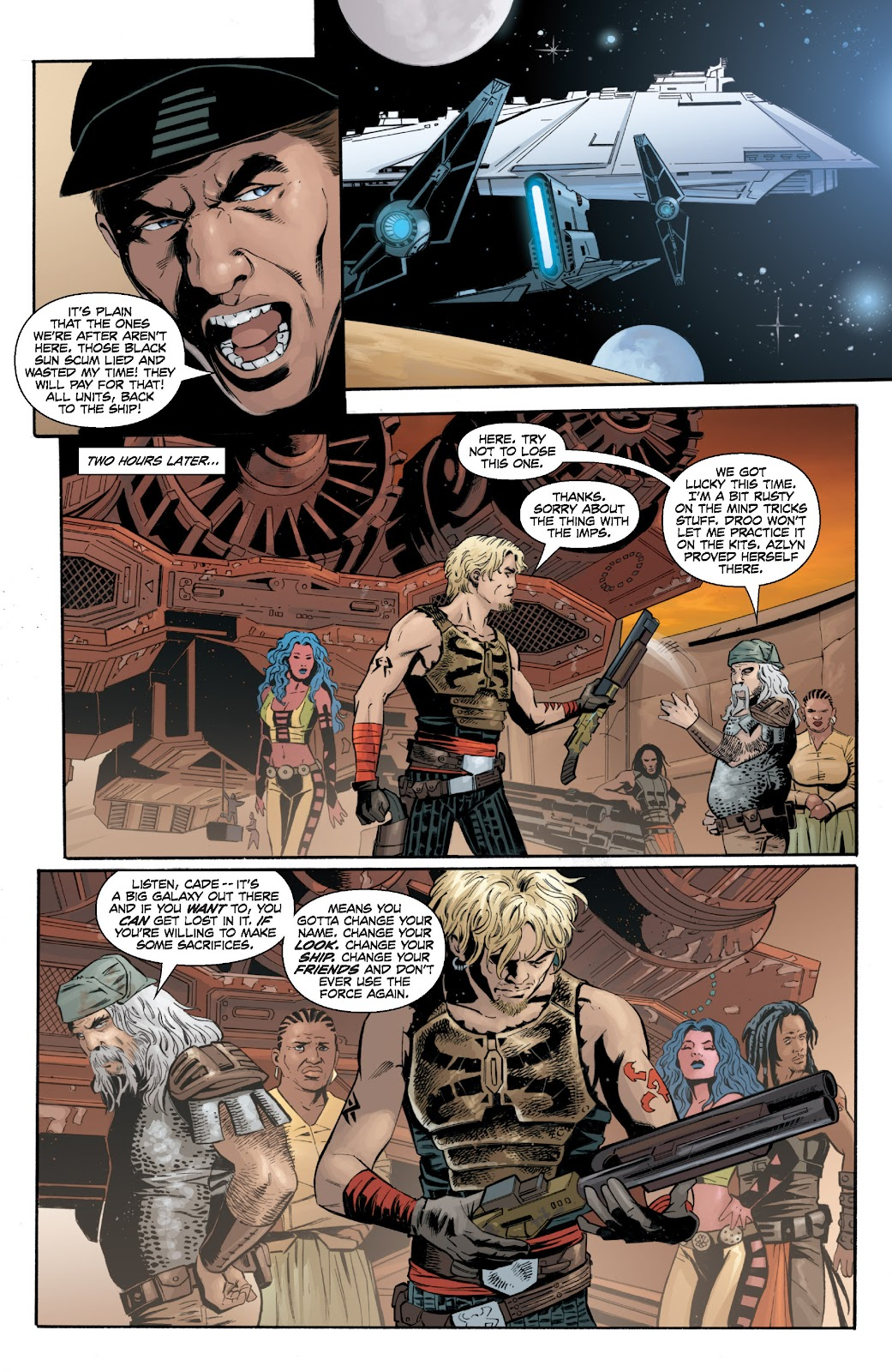 Read online Star Wars Legends: Legacy - Epic Collection comic -  Issue # TPB 2 (Part 2) - 45