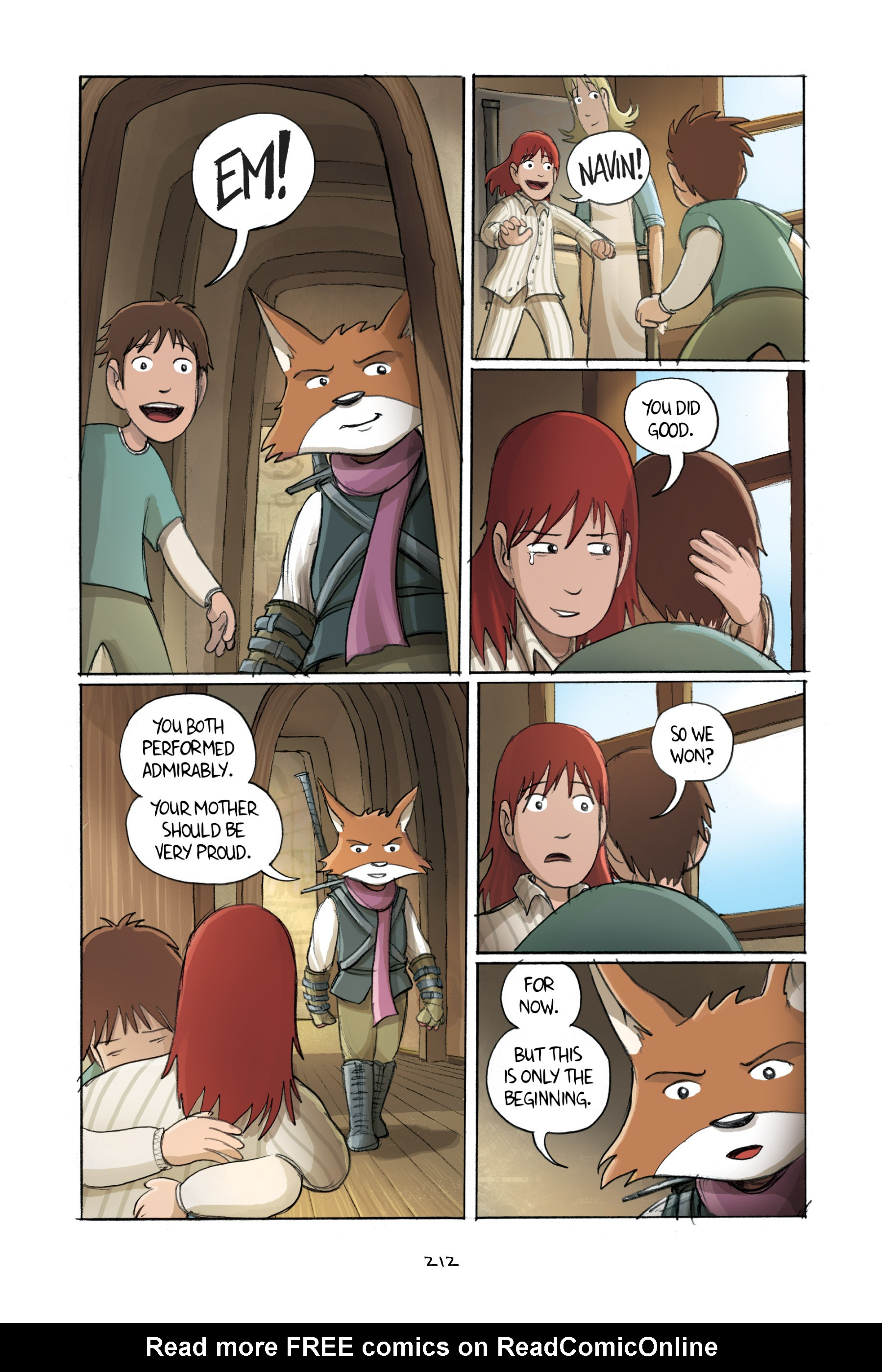 Read online Amulet comic -  Issue #2 - 209