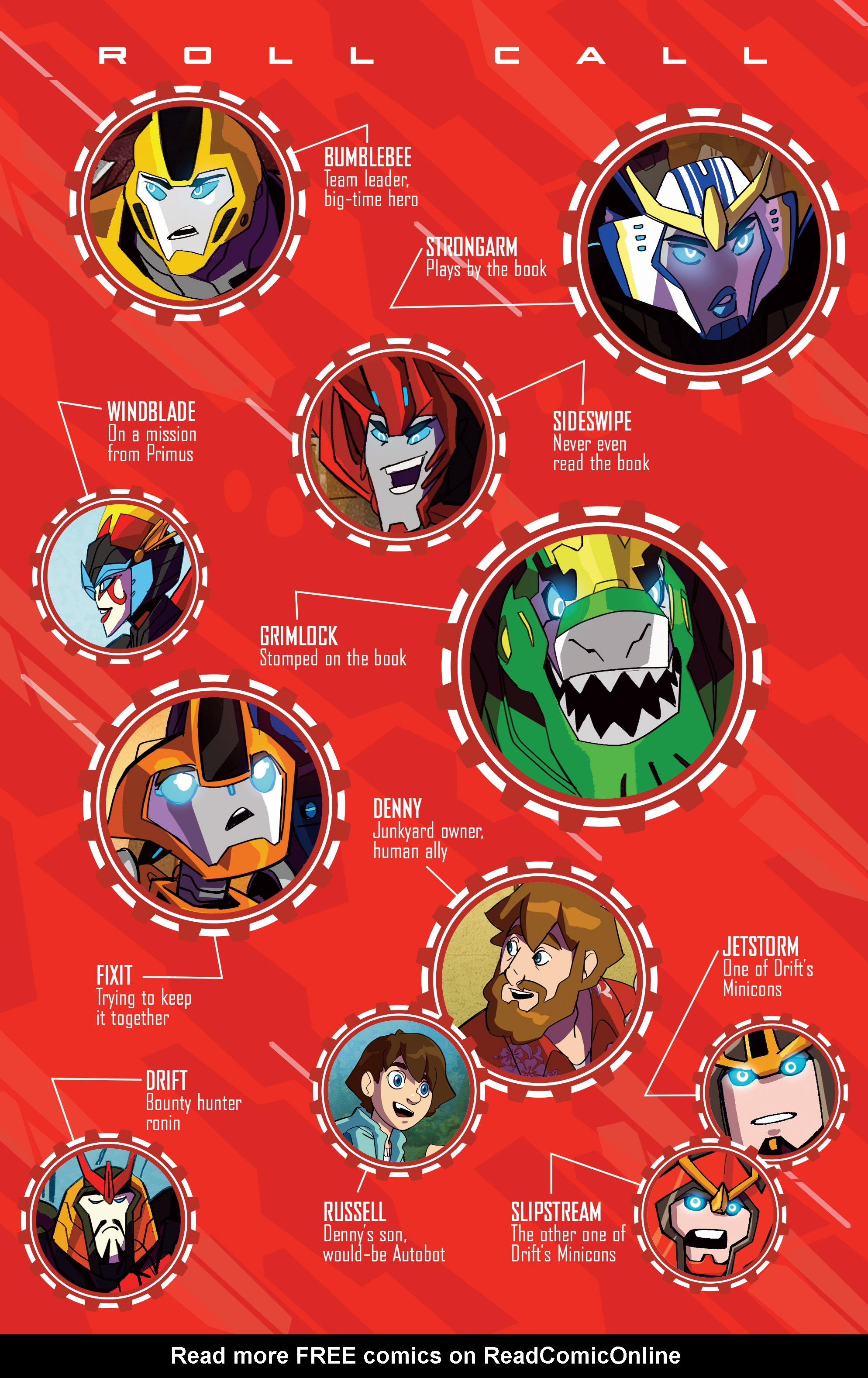 Read online Transformers: Robots In Disguise (2015) comic -  Issue #6 - 4