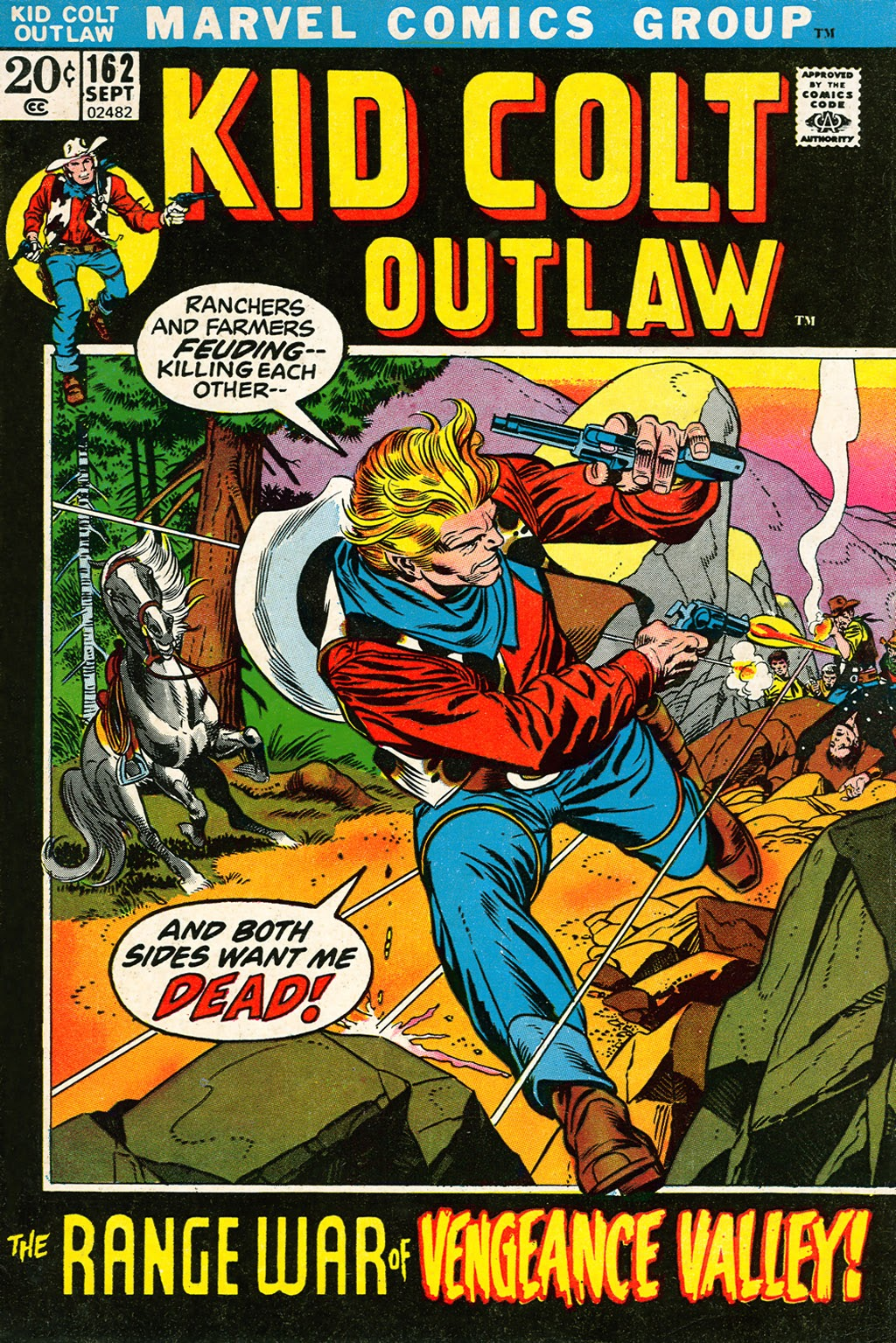 Kid Colt Outlaw issue 162 - Page 1