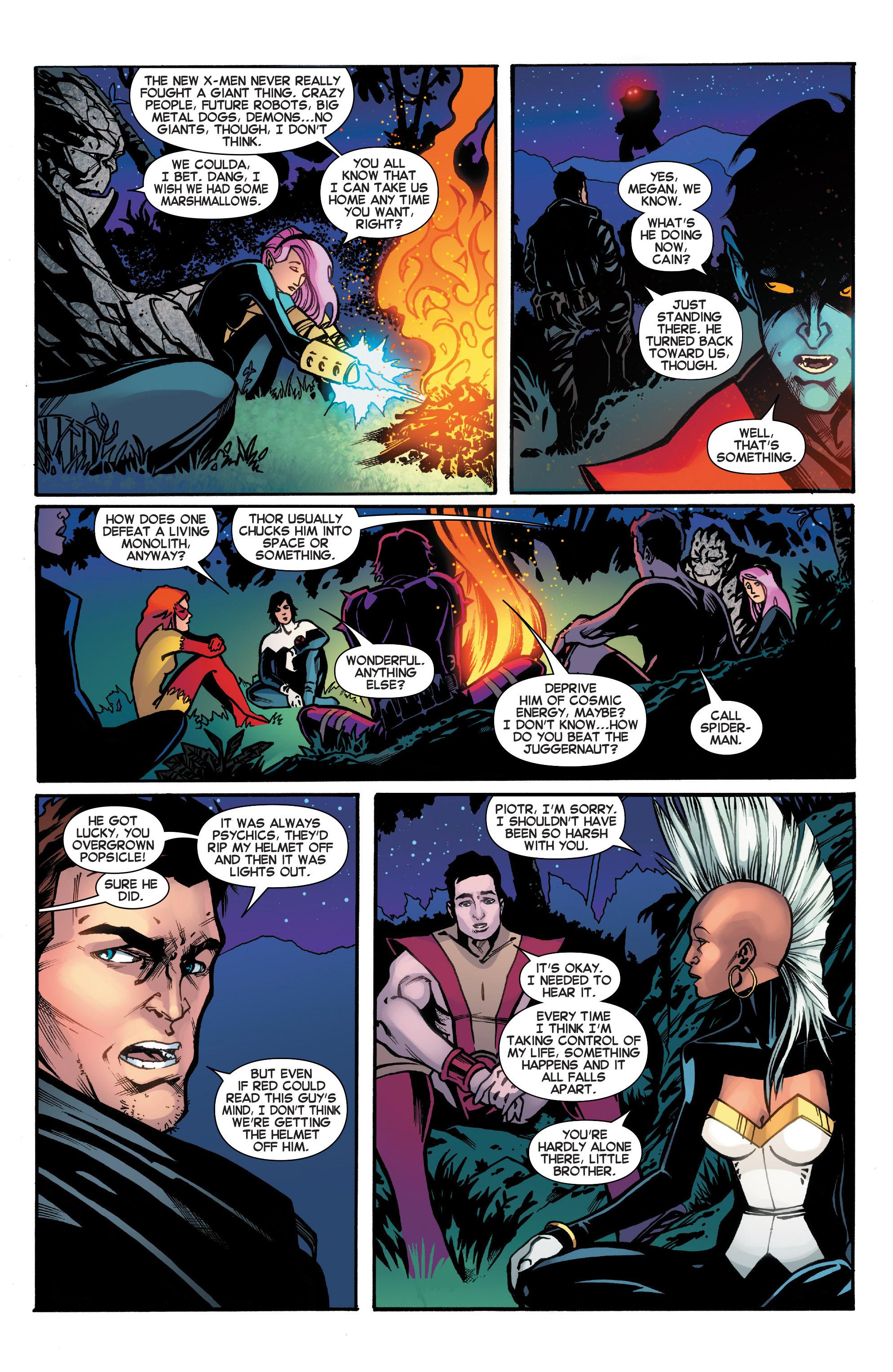 Read online Amazing X-Men (2014) comic -  Issue #18 - 9