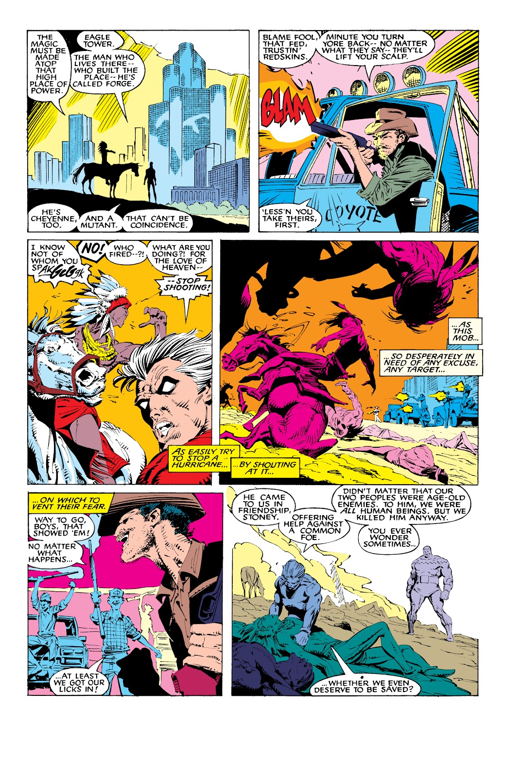 Read online X-Men Milestones: Fall of the Mutants comic -  Issue # TPB (Part 1) - 50