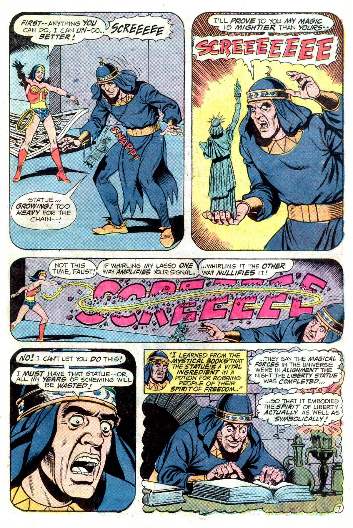 Read online Wonder Woman (1942) comic -  Issue #218 - 19