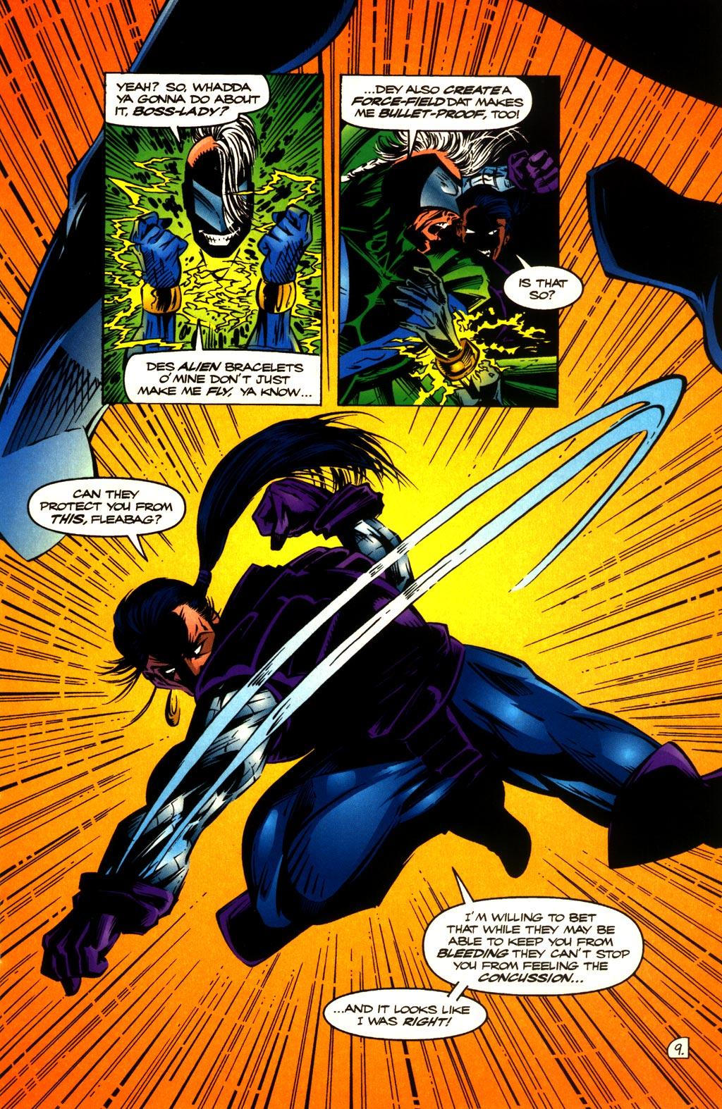 Read online ShadowHawk comic -  Issue #10 - 11