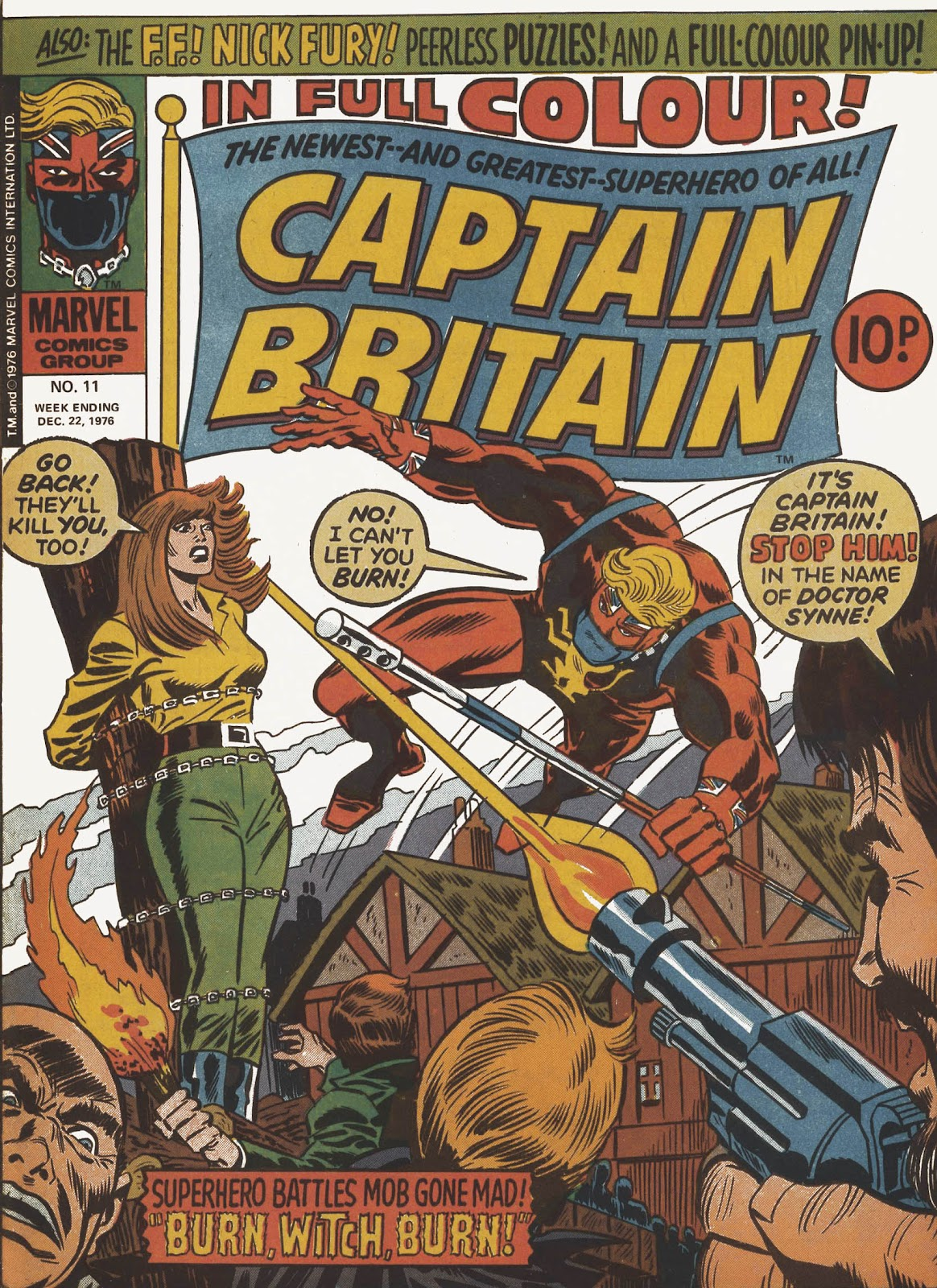 Captain Britain (1976) issue 11 - Page 1