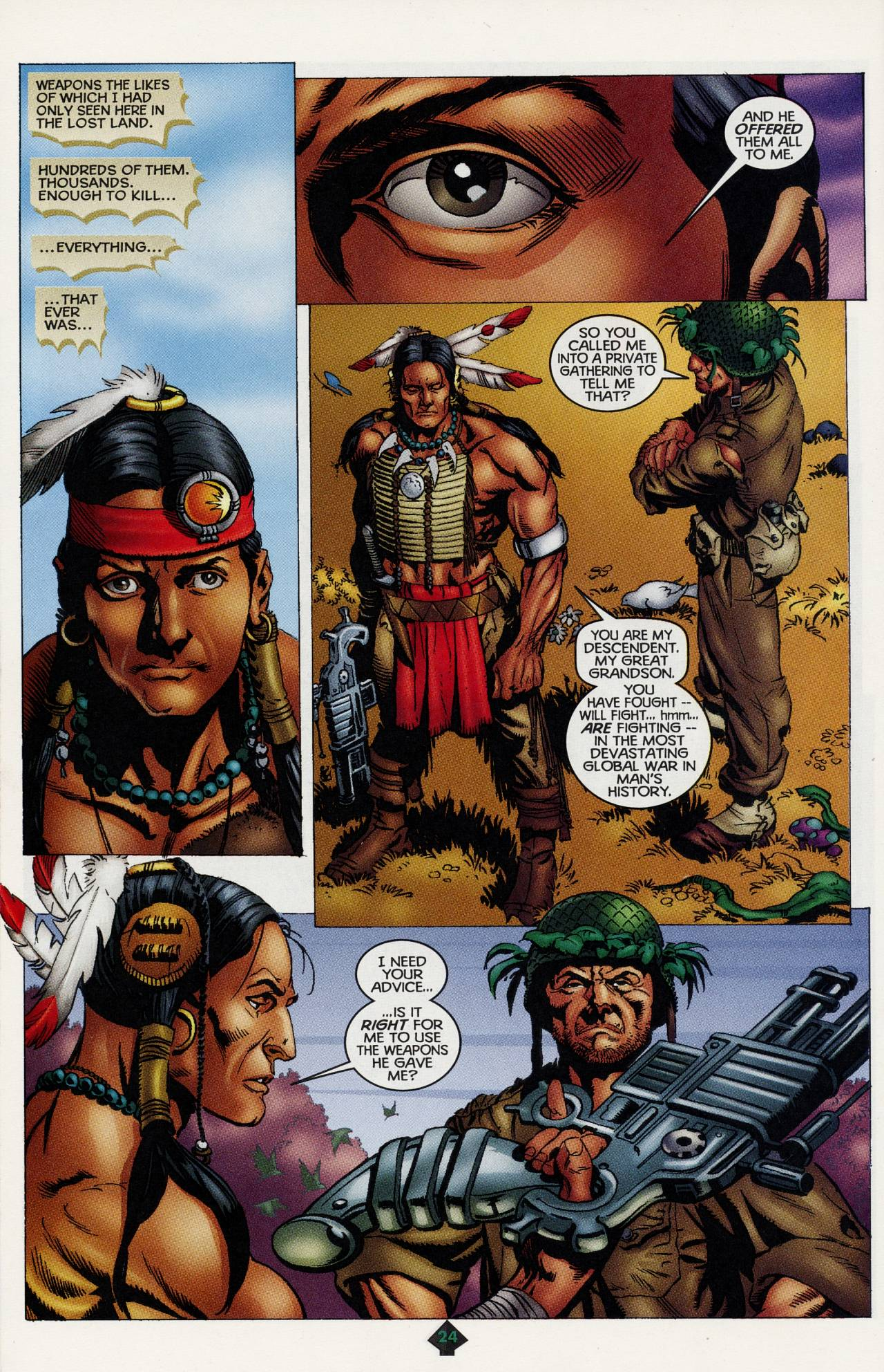 Read online Turok: Tales of the Lost Land comic -  Issue # Full - 22