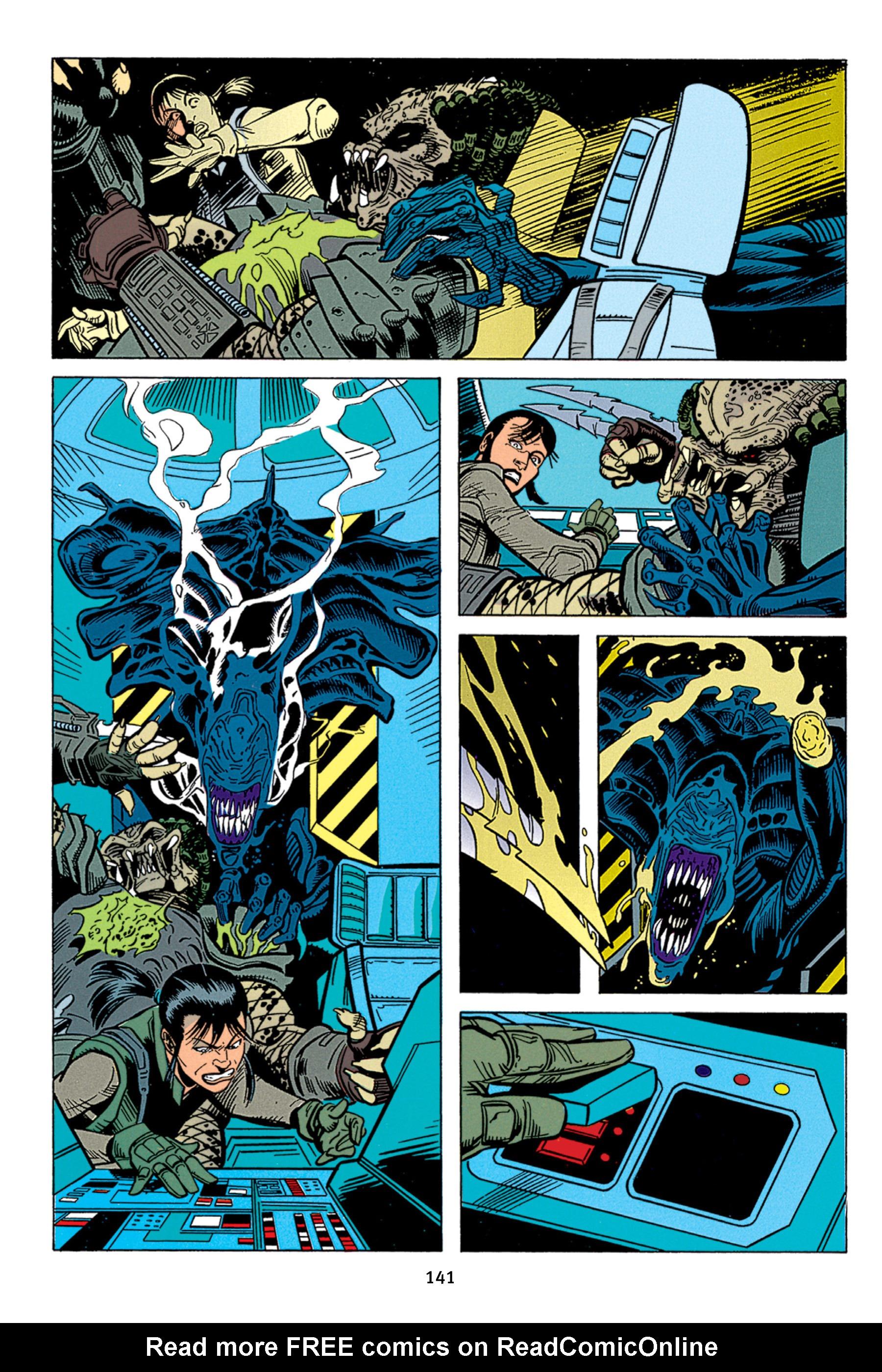 Read online Aliens vs. Predator Omnibus comic -  Issue # _TPB 1 Part 2 - 40