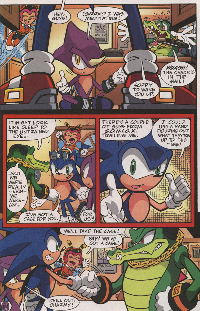 Read online Sonic X comic -  Issue #38 - 25