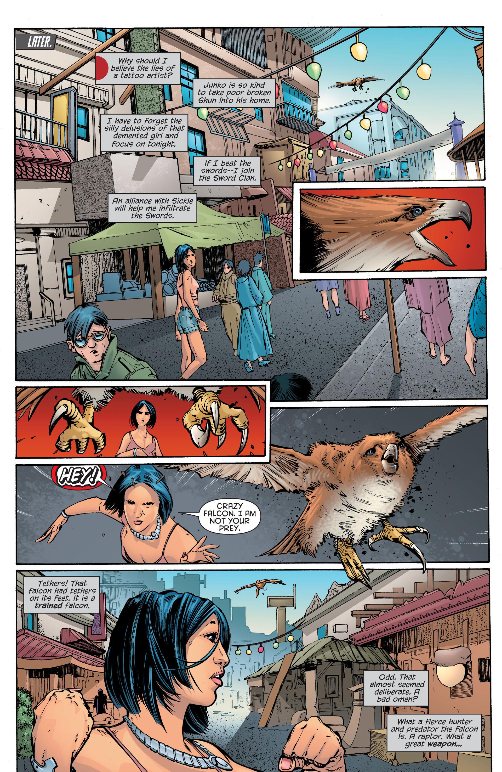 Read online Katana comic -  Issue #7 - 4