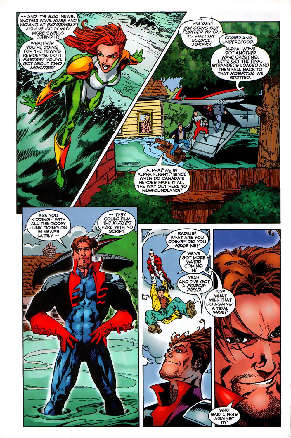 Read online Alpha Flight (1997) comic -  Issue # _Annual - 6