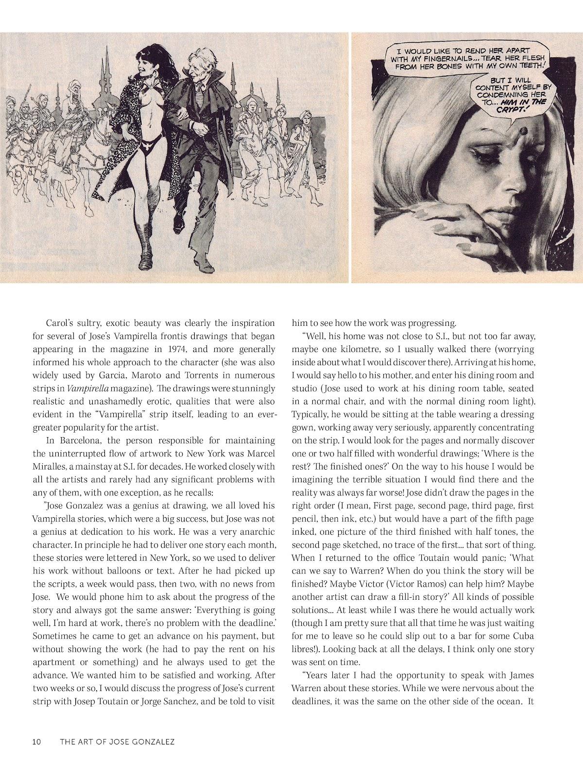 Read online The Art of Jose Gonzalez comic -  Issue # TPB (Part 1) - 11