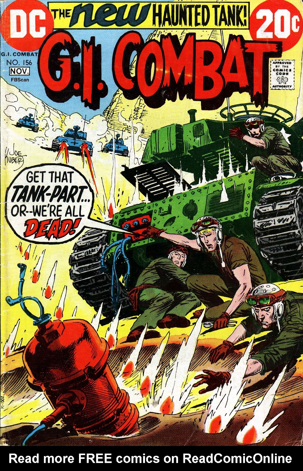 G.I. Combat (1952) issue 156 - Page 1
