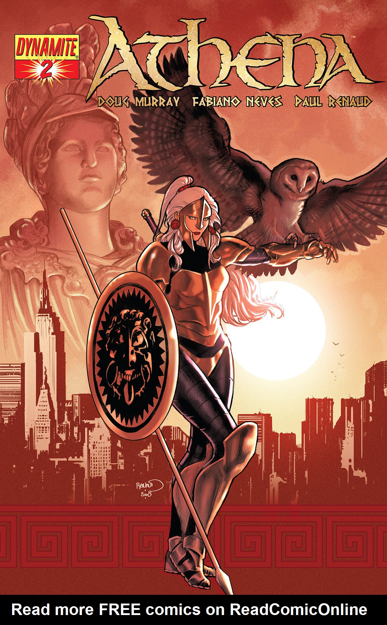 Read online Athena comic -  Issue #2 - 1