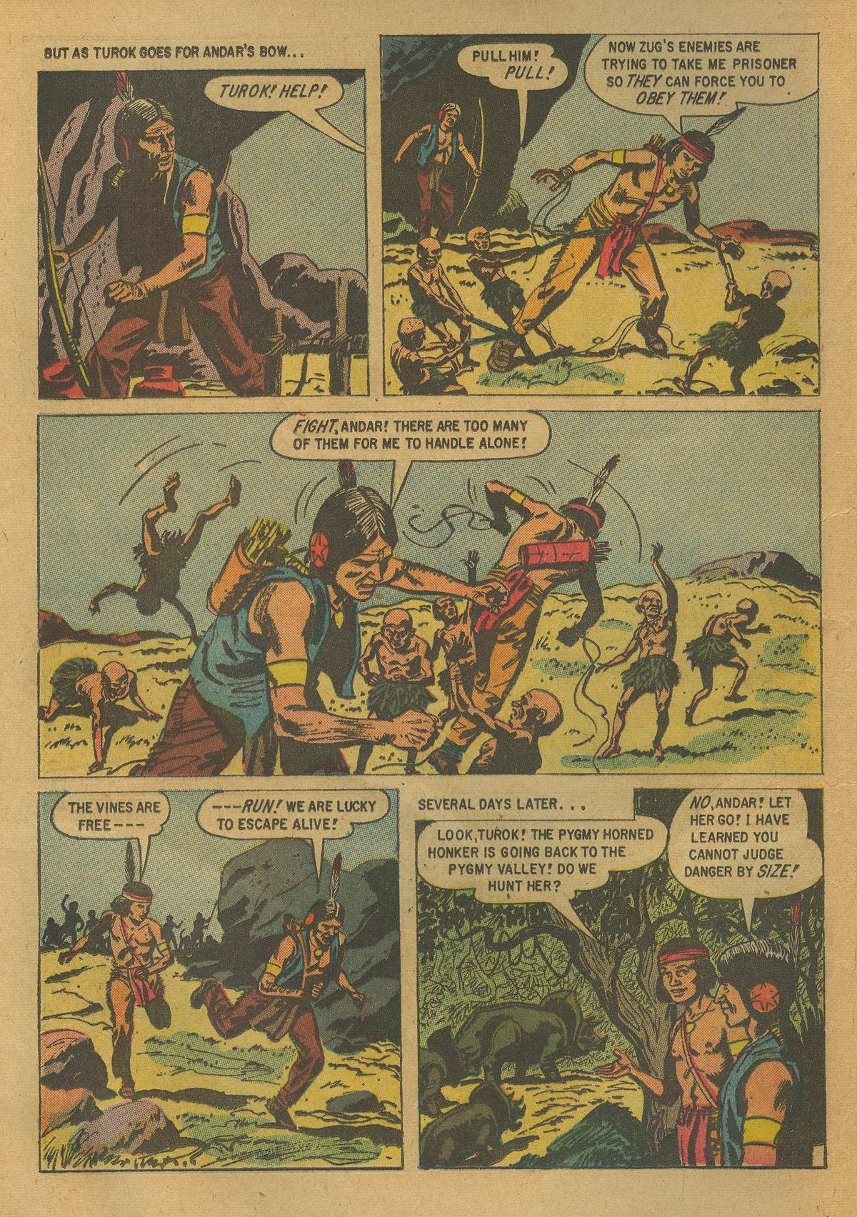 Read online Turok, Son of Stone comic -  Issue #17 - 16