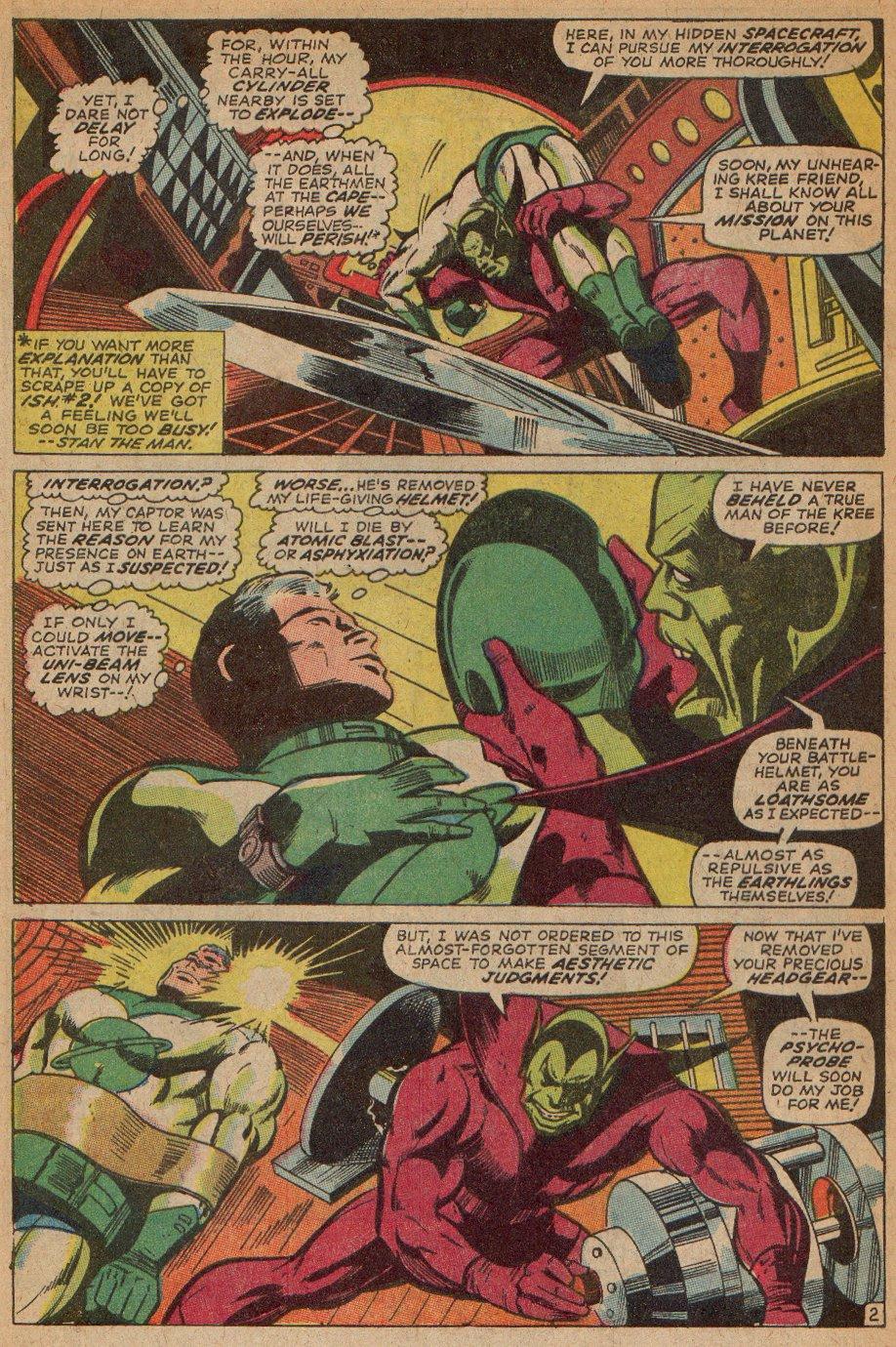 Captain Marvel (1968) Issue #3 #3 - English 3
