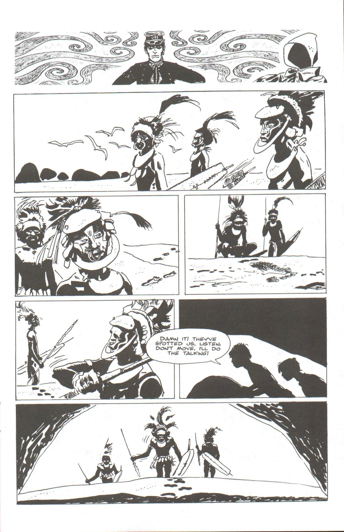 Read online Corto Maltese: Ballad of the Salt Sea comic -  Issue #2 - 7