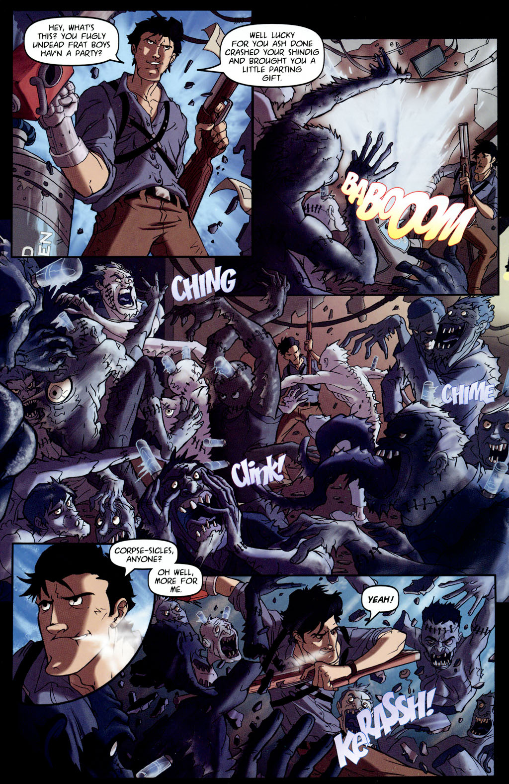 Read online Army of Darkness vs. Re-Animator comic -  Issue #4 - 11