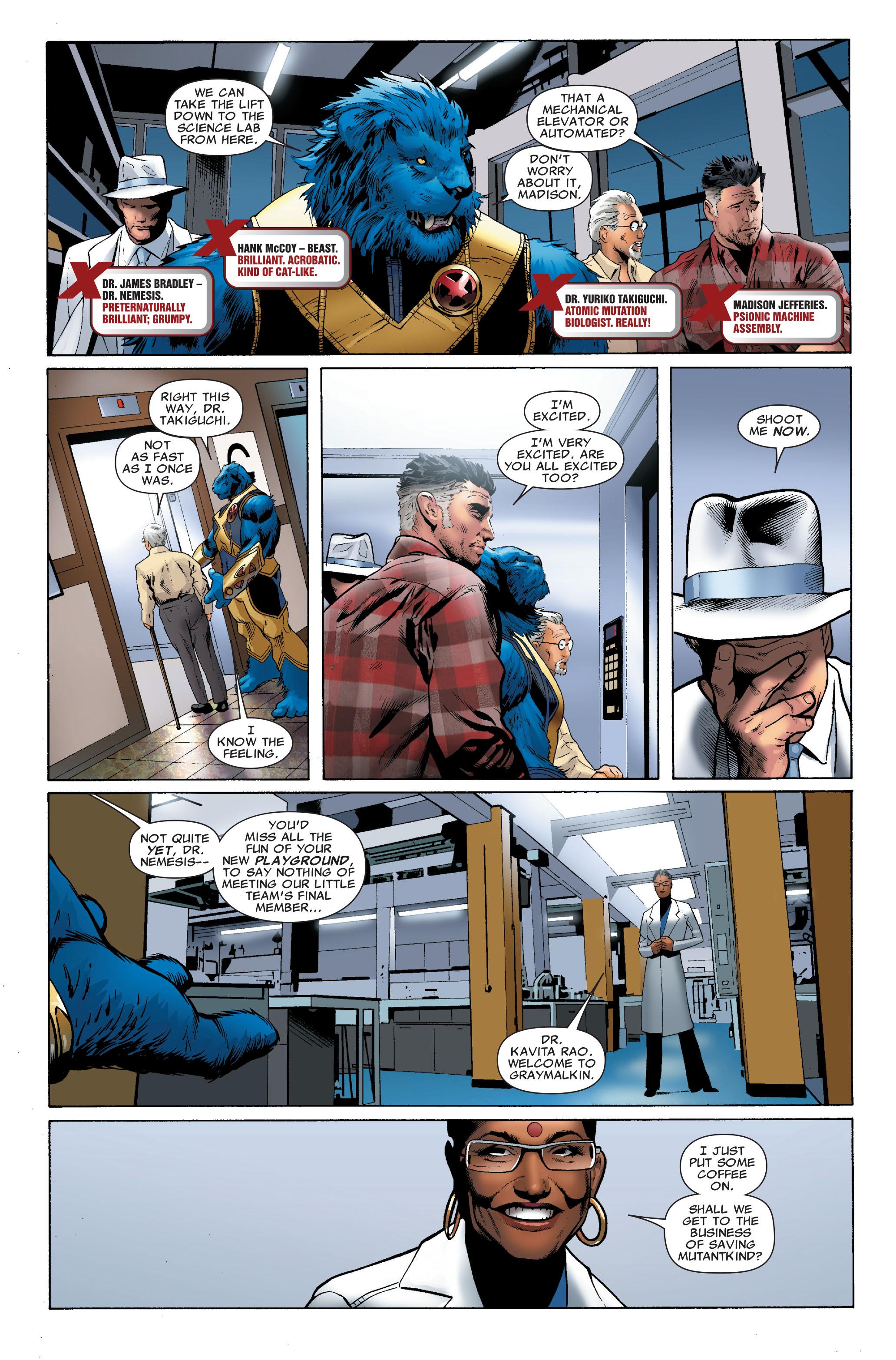 Read online Uncanny X-Men (1963) comic -  Issue #508 - 11
