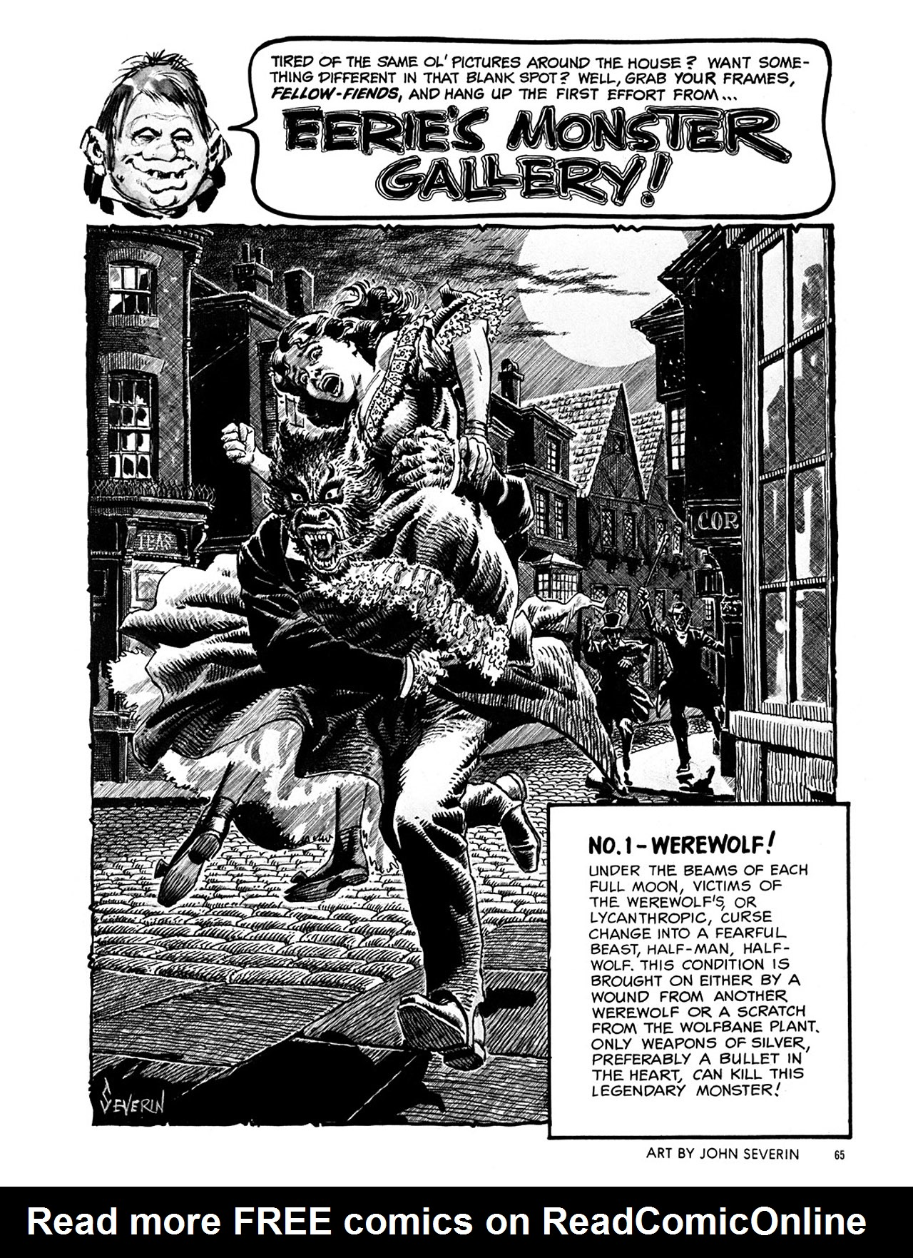 Read online Eerie Archives comic -  Issue # TPB 1 - 66