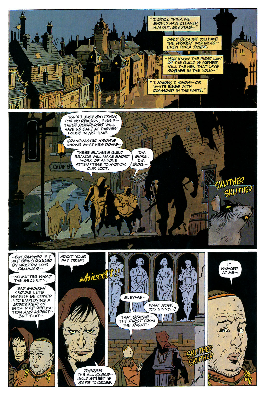 Read online Fafhrd and the Gray Mouser comic -  Issue #1 - 4