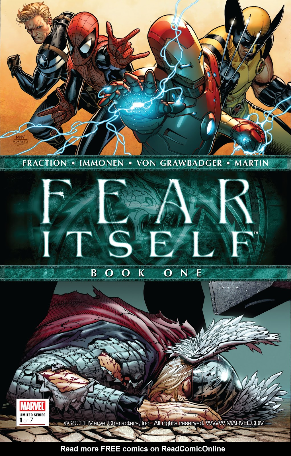 Fear Itself 1 Page 1