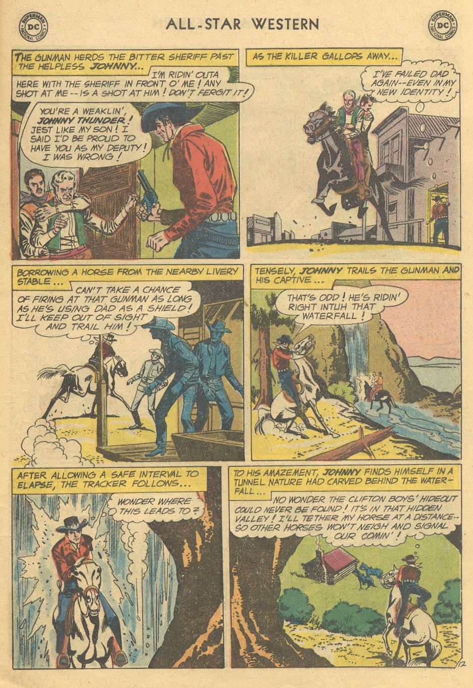 Read online All-Star Western (1951) comic -  Issue #108 - 17