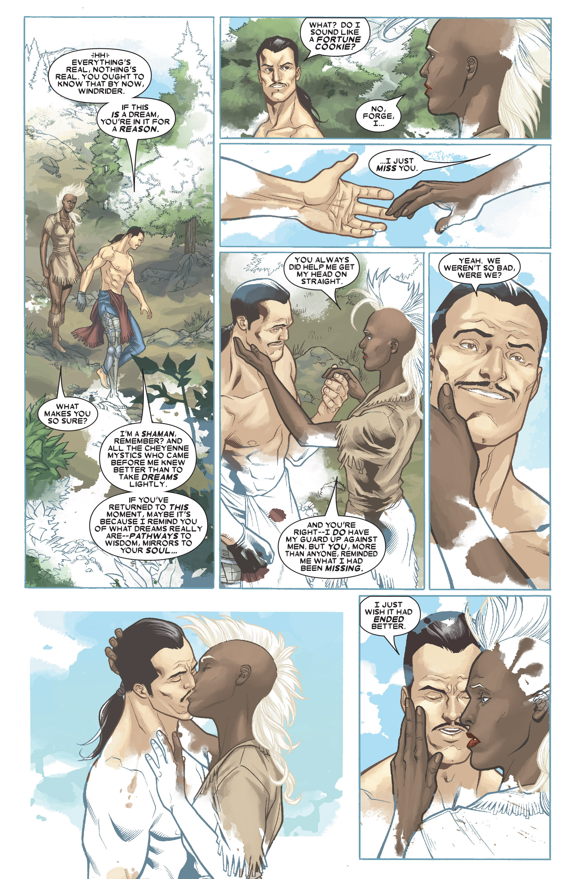 Read online Uncanny X-Men (1963) comic -  Issue # _Annual 1 (2006) - 12