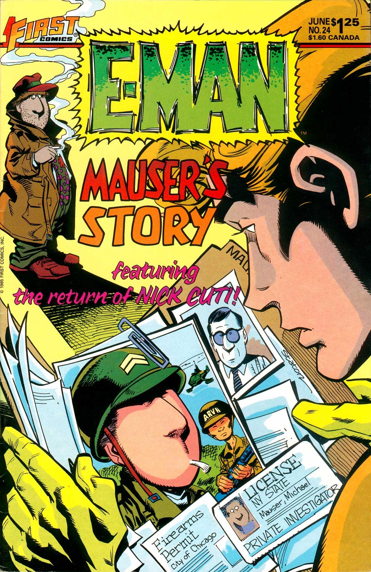 E-Man (1983) 24 Page 1