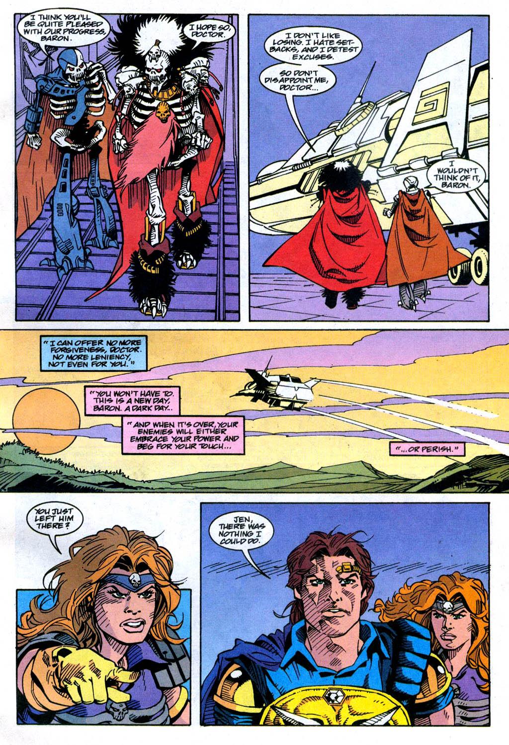 Skeleton Warriors Issue #4 #4 - English 11