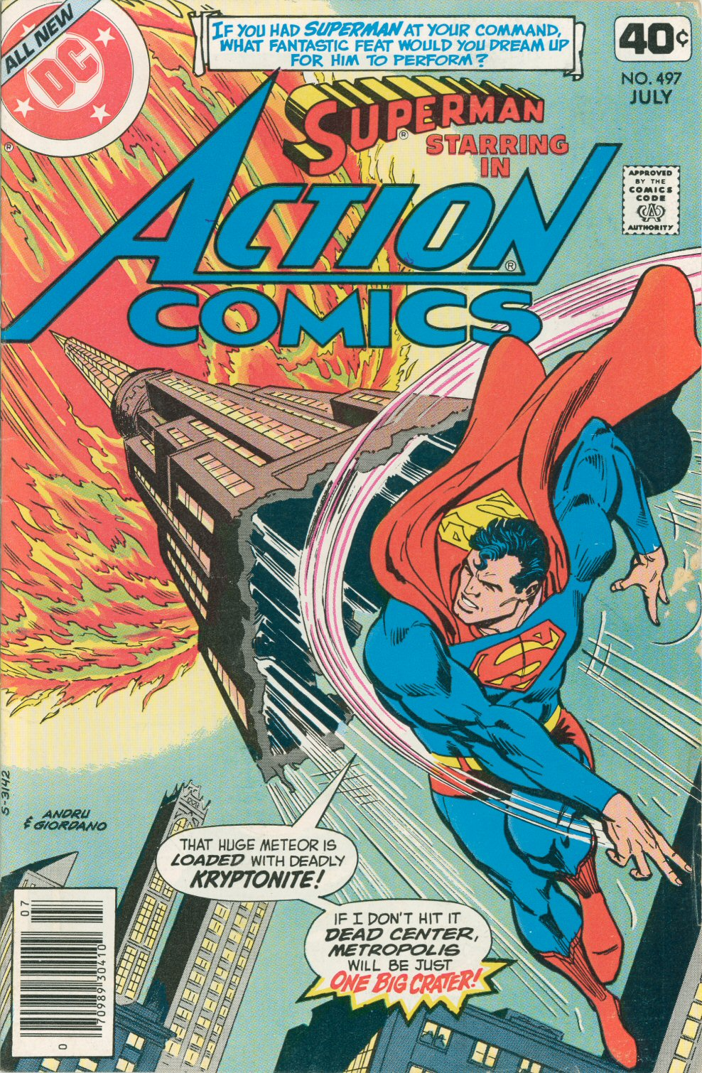 Read online Action Comics (1938) comic -  Issue #497 - 1