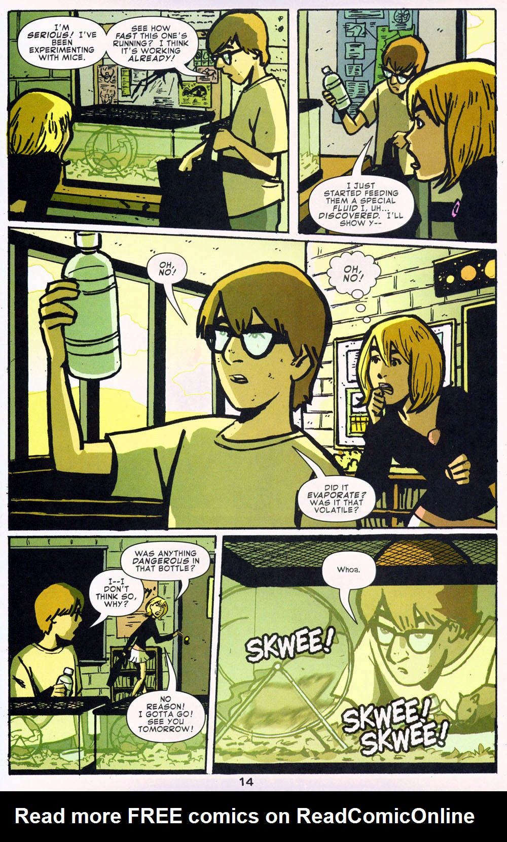Read online Bad Girls comic -  Issue #1 - 15