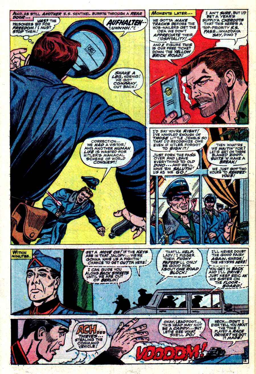 Read online Sgt. Fury comic -  Issue #42 - 17