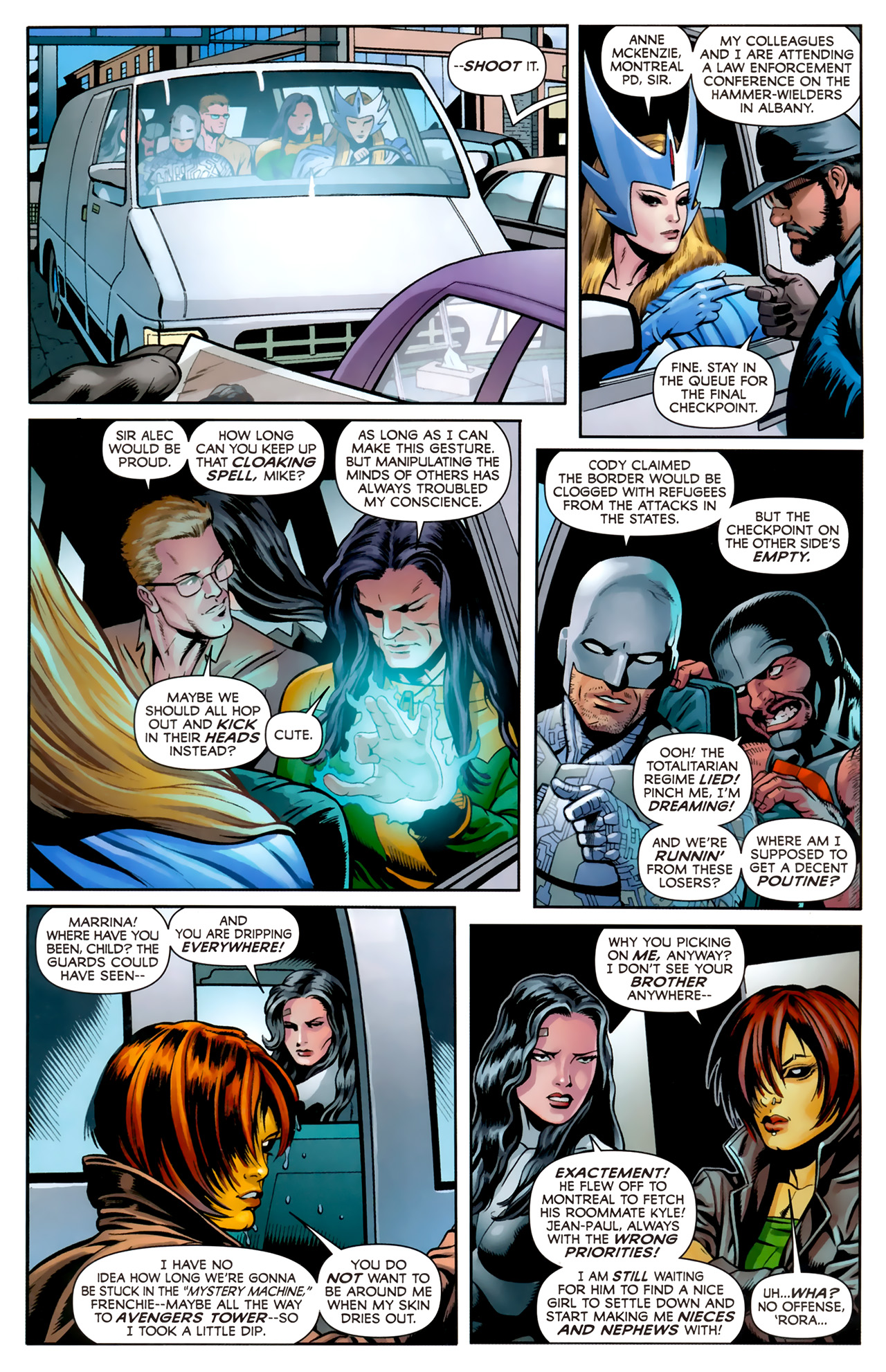 Read online Alpha Flight (2011) comic -  Issue #4 - 8