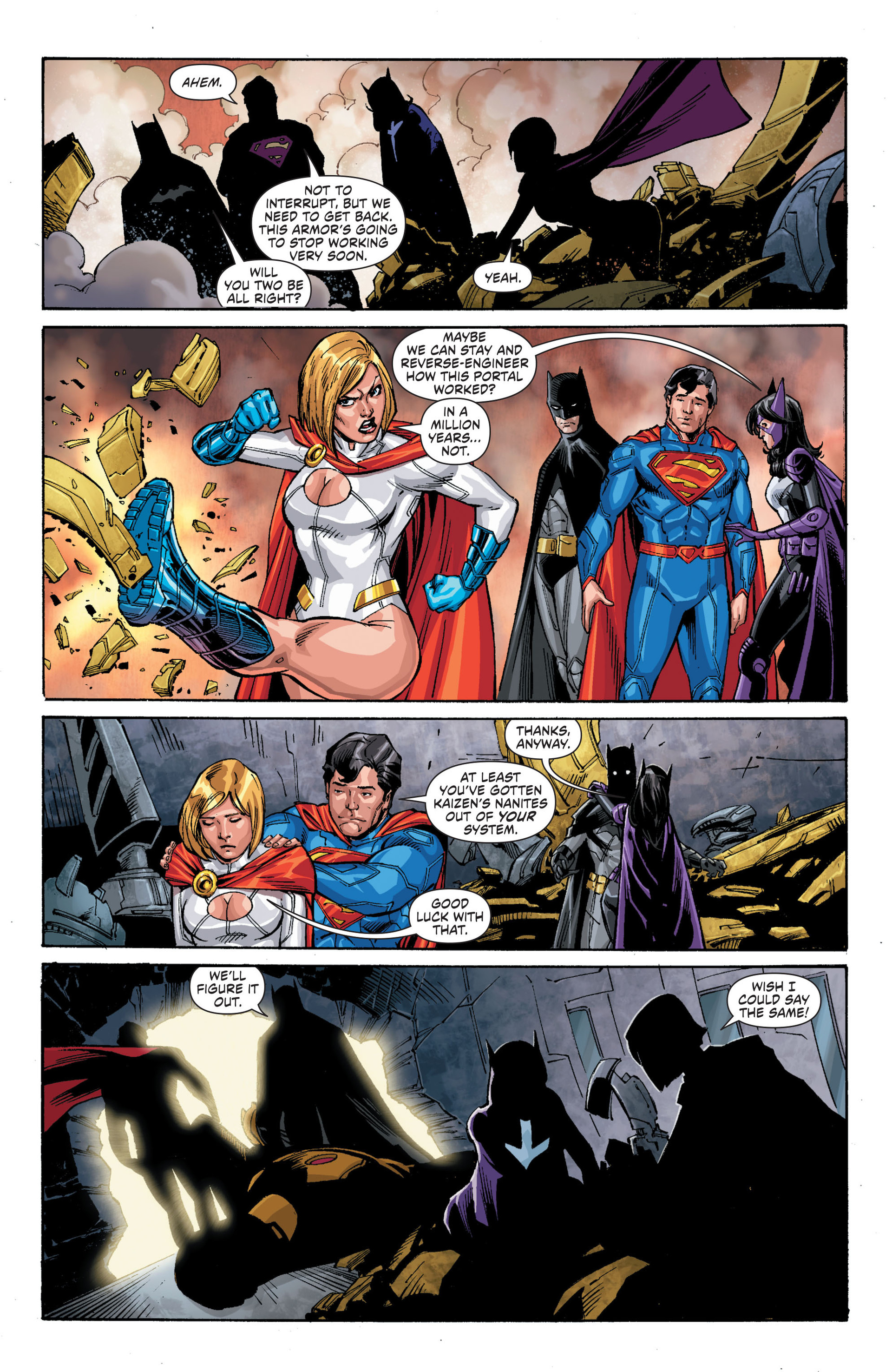 Read online Worlds' Finest comic -  Issue #21 - 20