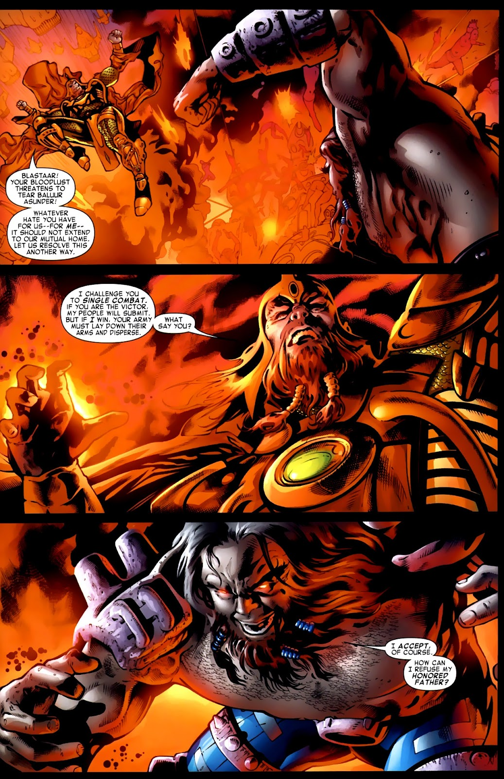 War of Kings: Warriors Issue #1 #1 - English 26