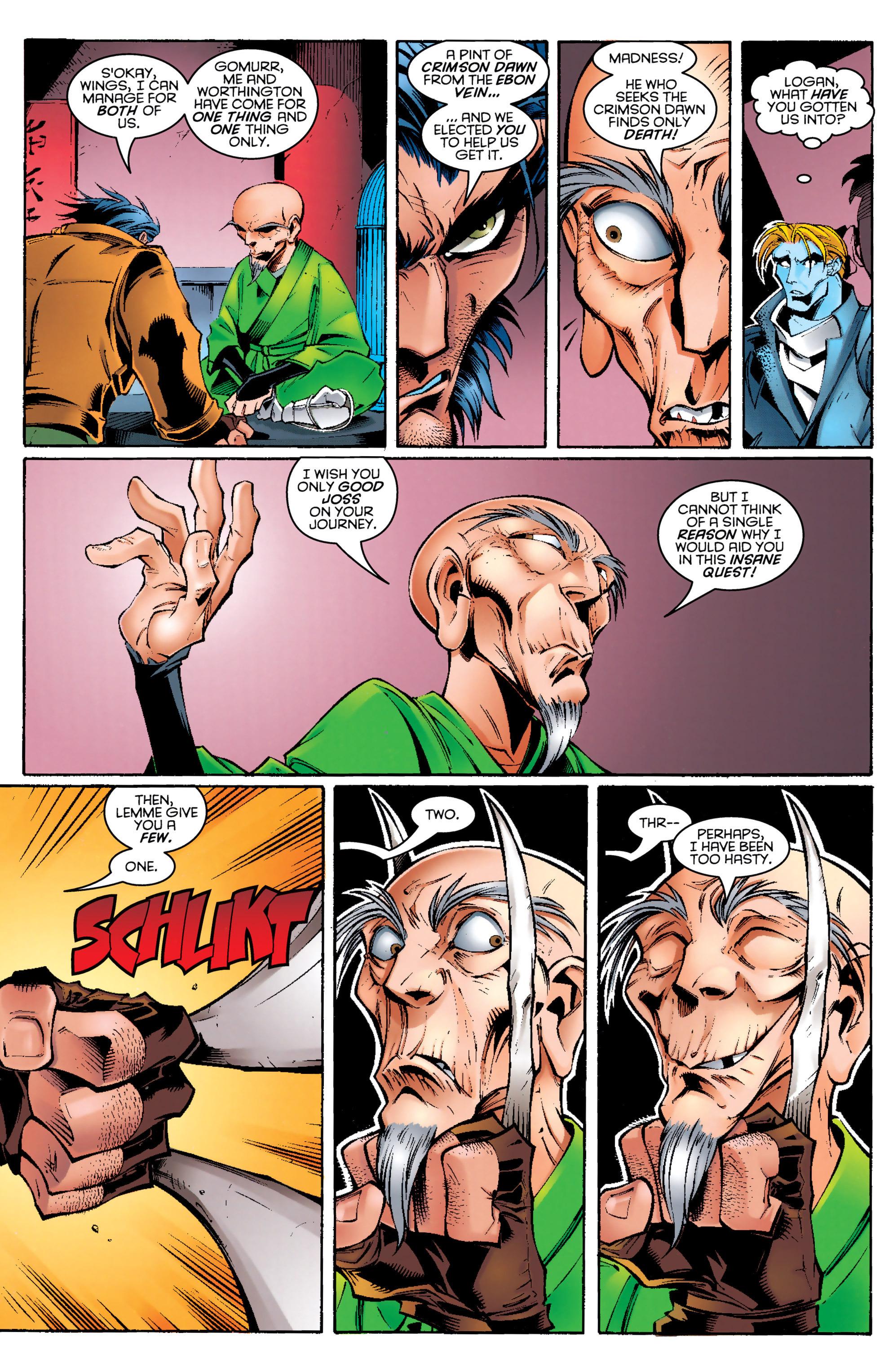Read online Uncanny X-Men (1963) comic -  Issue #329 - 18
