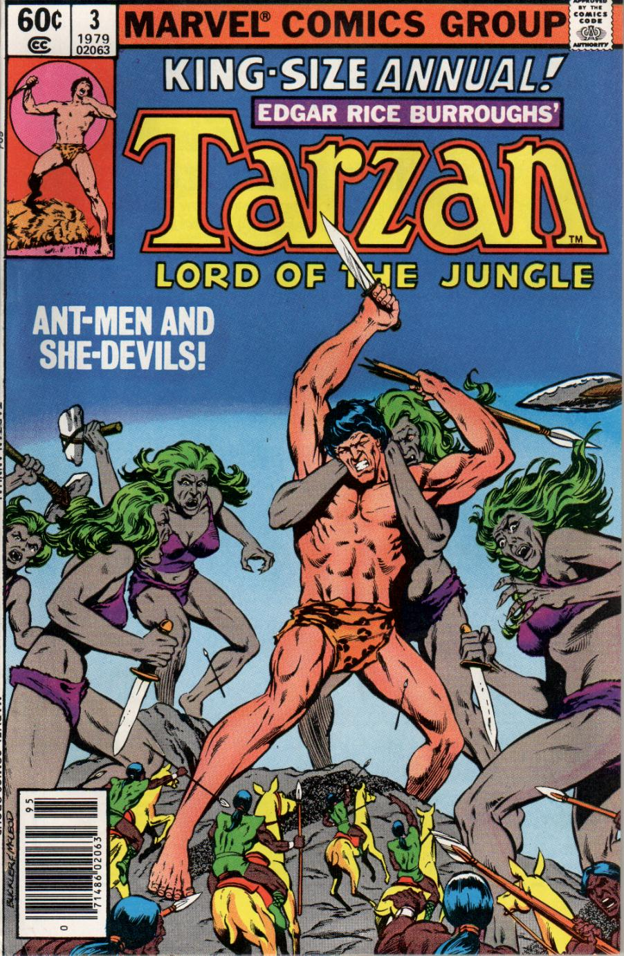 Read online Tarzan (1977) comic -  Issue # _Annual 3 - 1