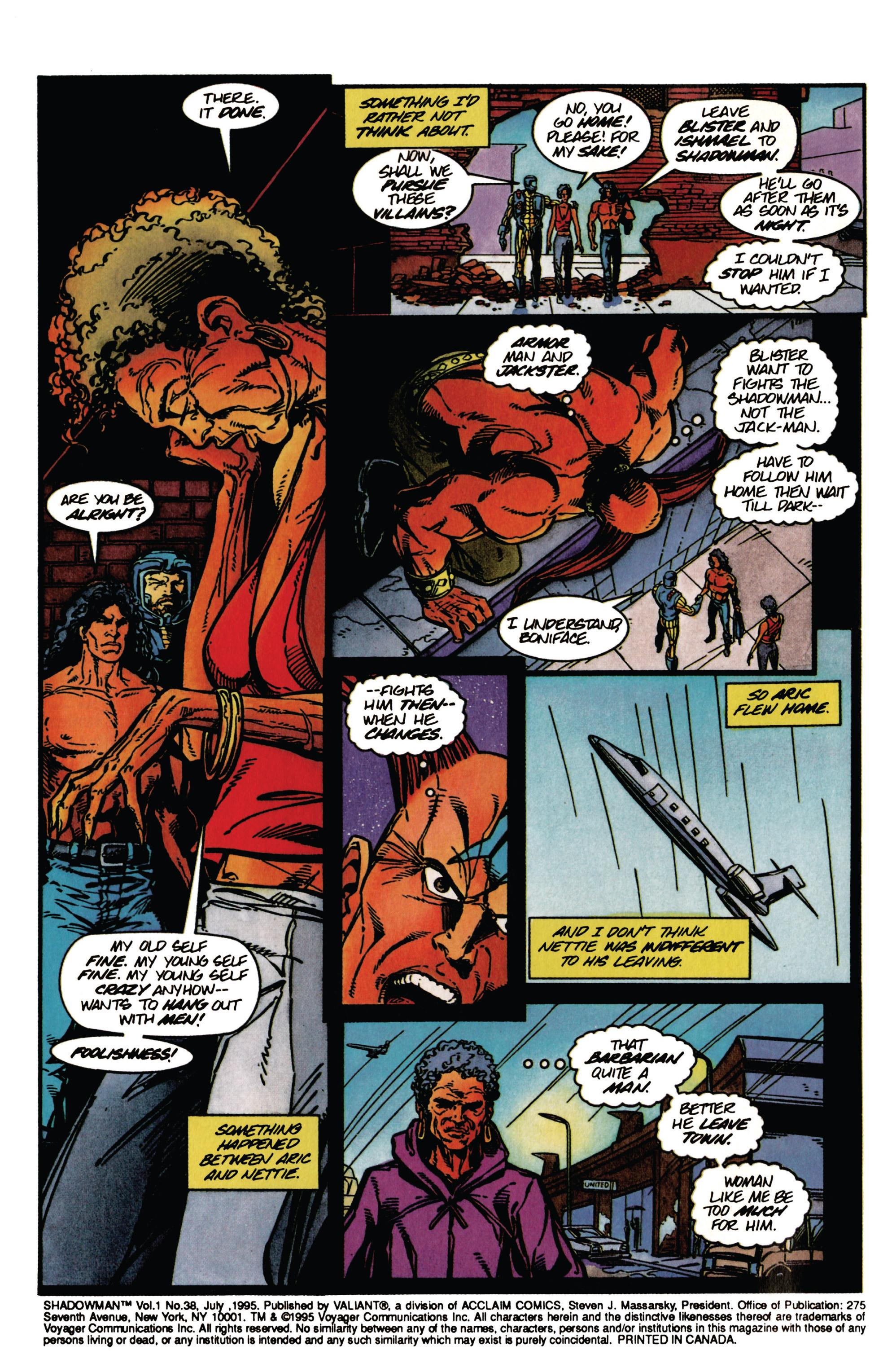 Read online Shadowman (1992) comic -  Issue #38 - 3